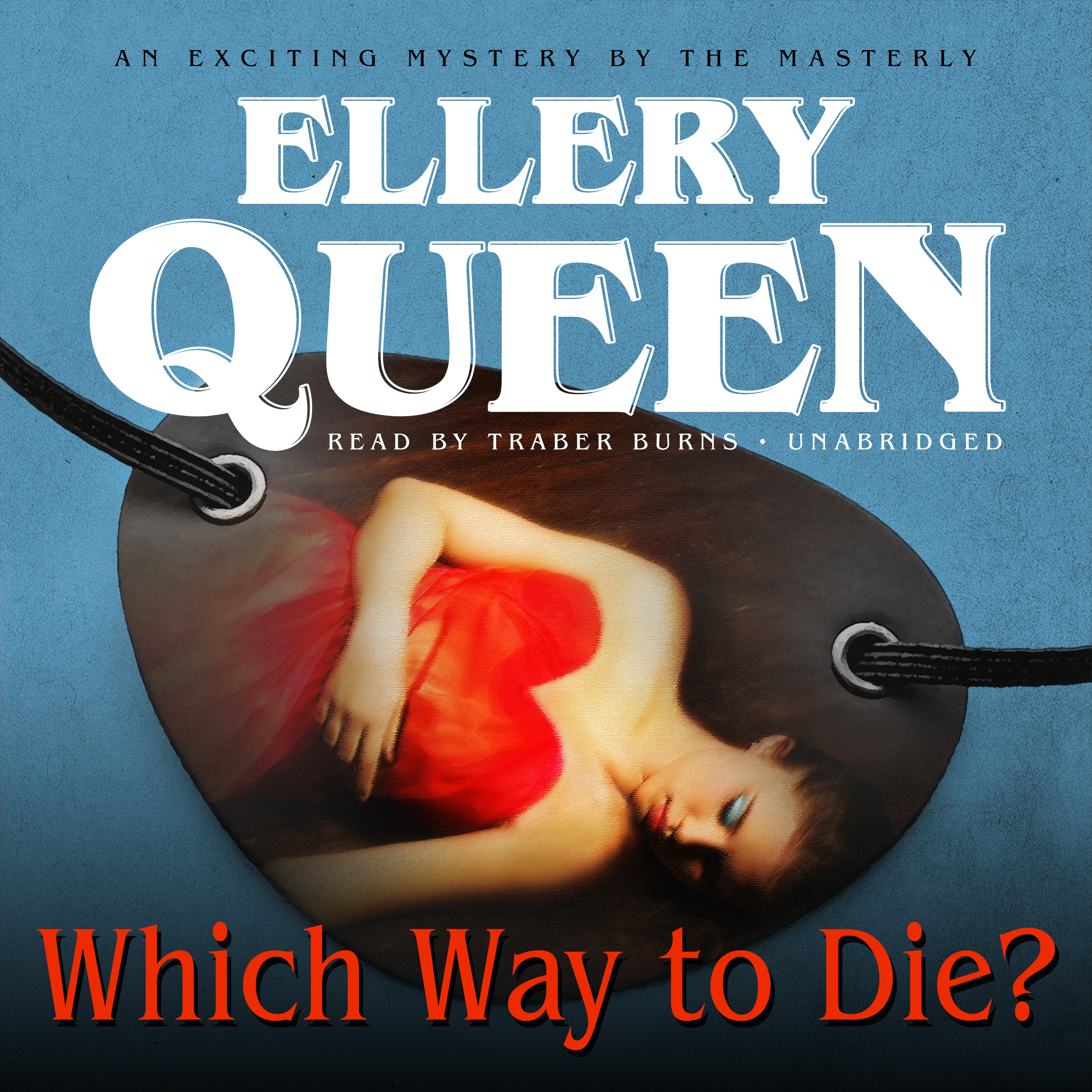Printable Which Way to Die? Audiobook Cover Art