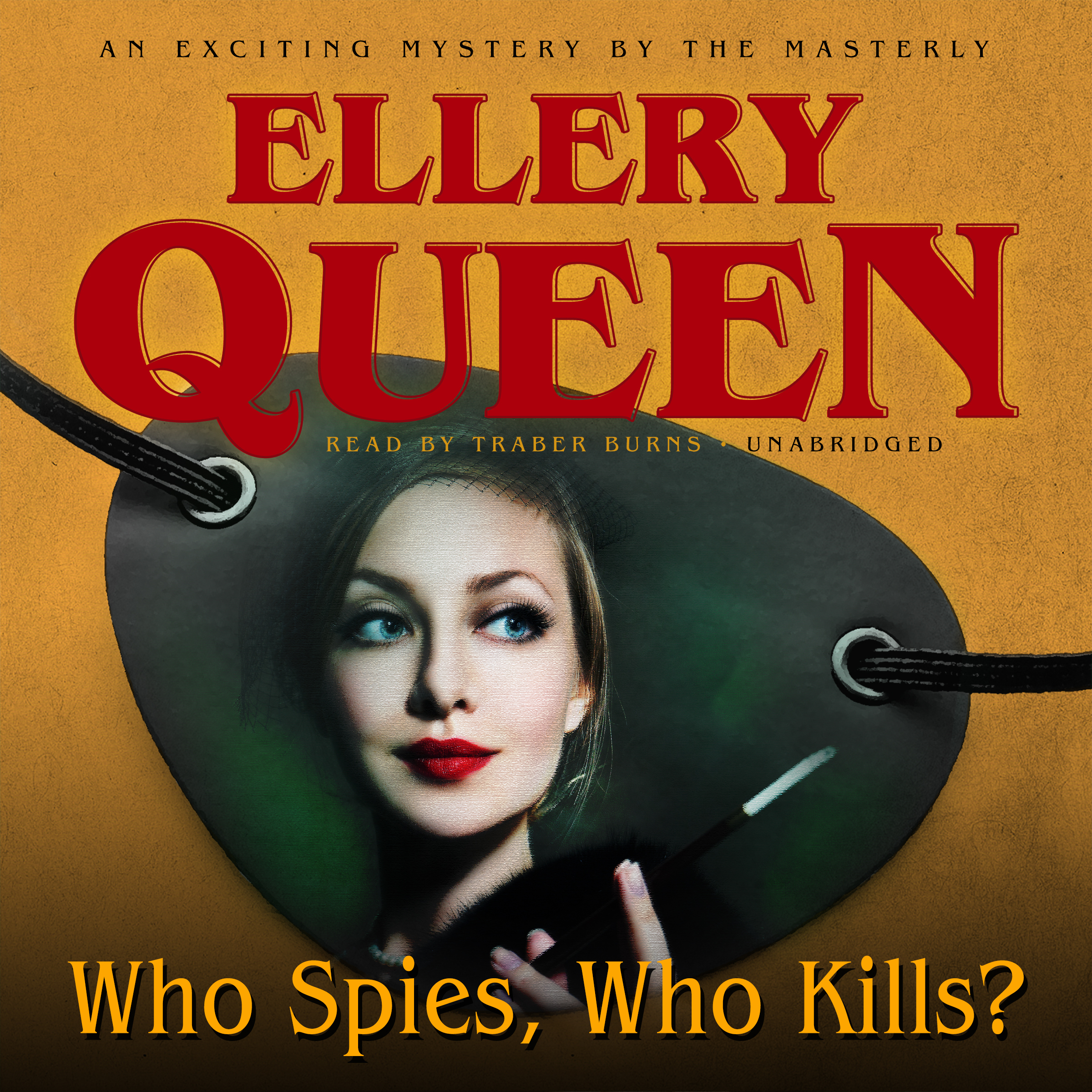 Printable Who Spies, Who Kills? Audiobook Cover Art