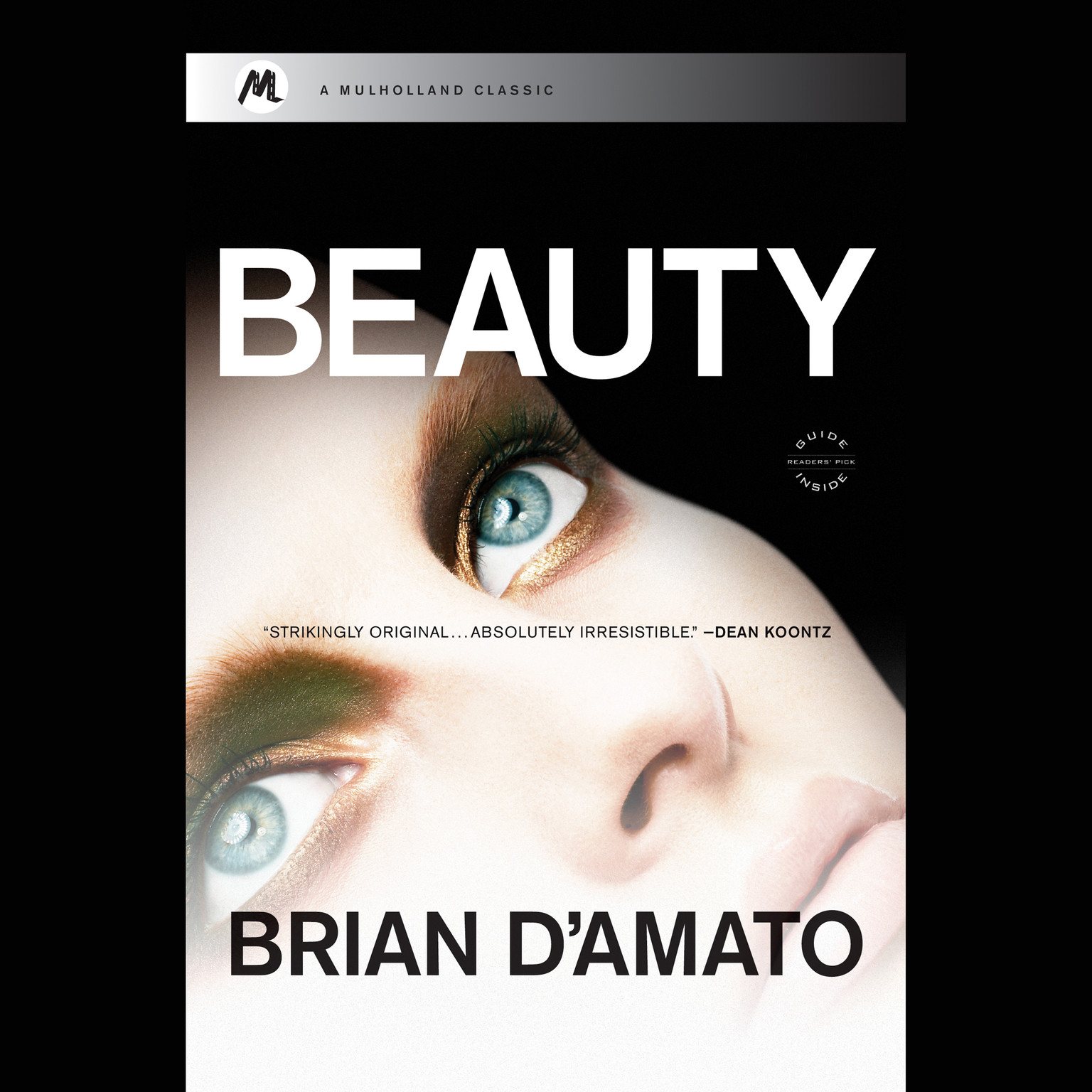 Printable Beauty Audiobook Cover Art