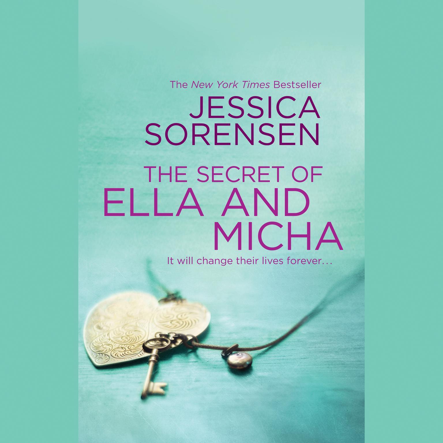 Printable The Secret of Ella and Micha Audiobook Cover Art