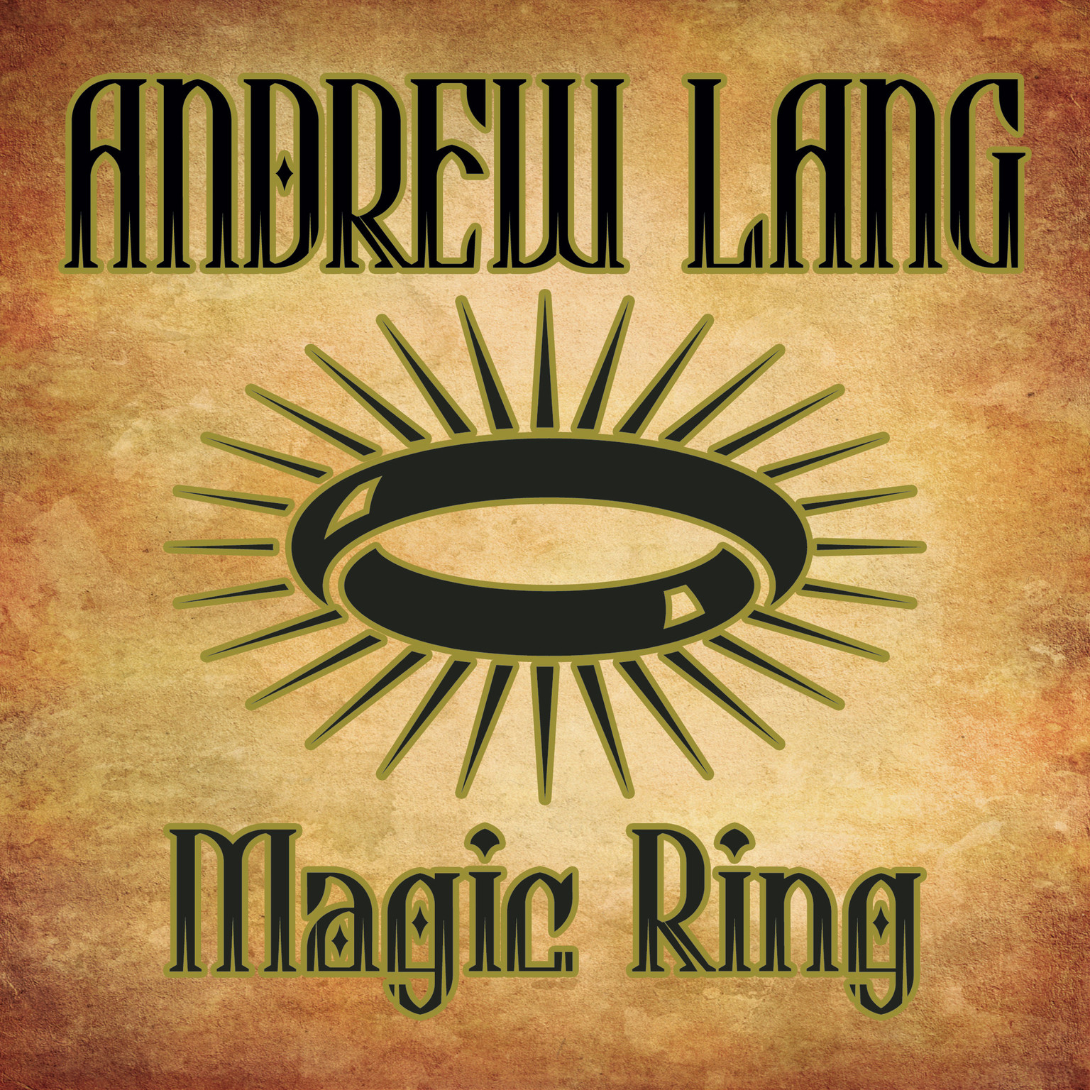 Printable Magic Ring Audiobook Cover Art