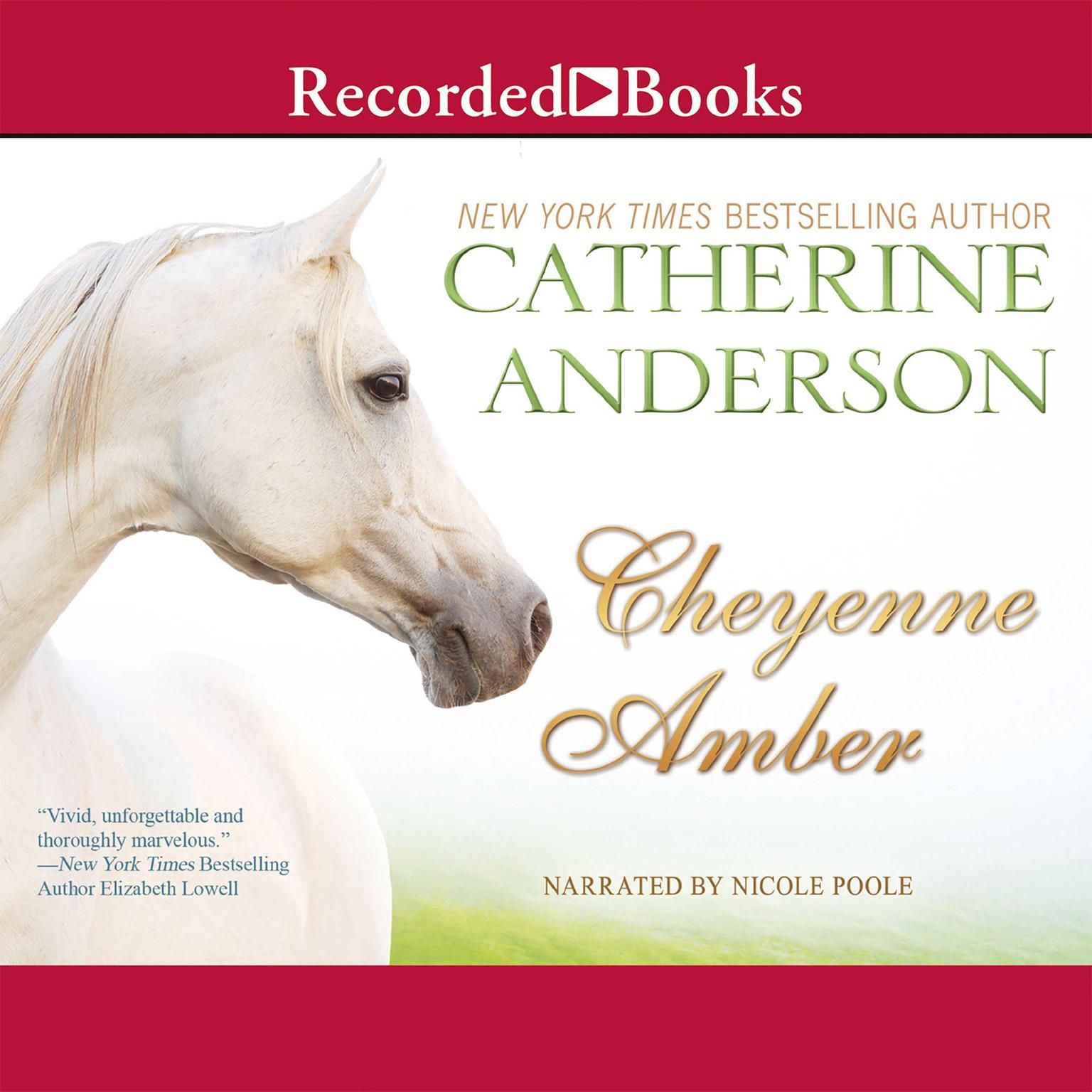 Printable Cheyenne Amber Audiobook Cover Art