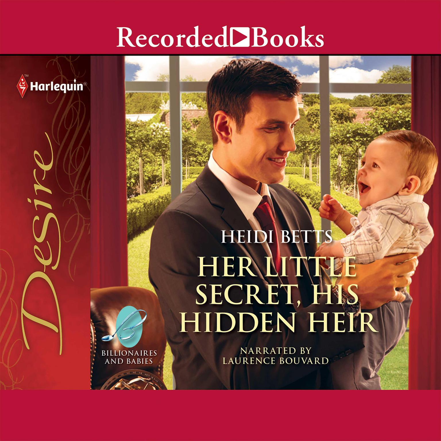 Printable Her Little Secret, His Hidden Heir Audiobook Cover Art