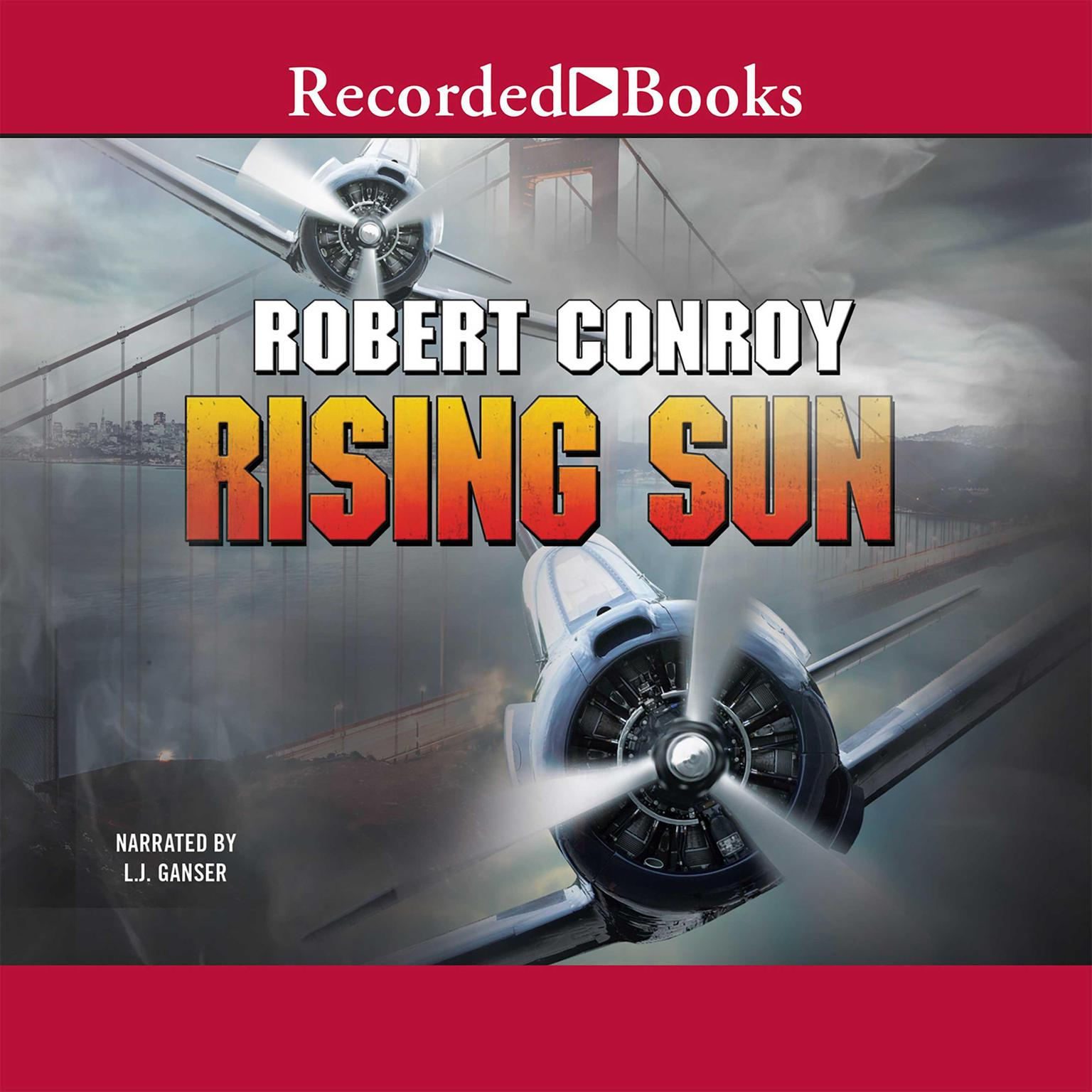 Printable Rising Sun Audiobook Cover Art