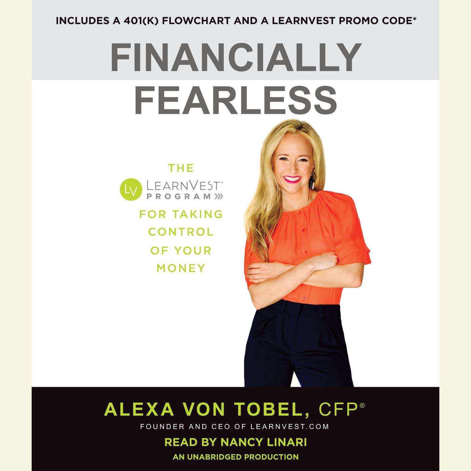 Printable Financially Fearless: The LearnVest Guide to Worry-Free Finances Audiobook Cover Art