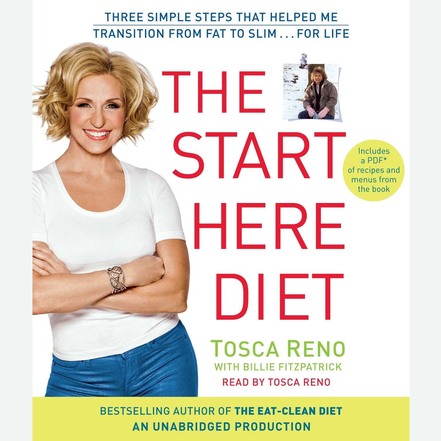Printable The Start Here Diet: Three Simple Steps That Helped Me Transition from Fat to Slim . . . for Life Audiobook Cover Art