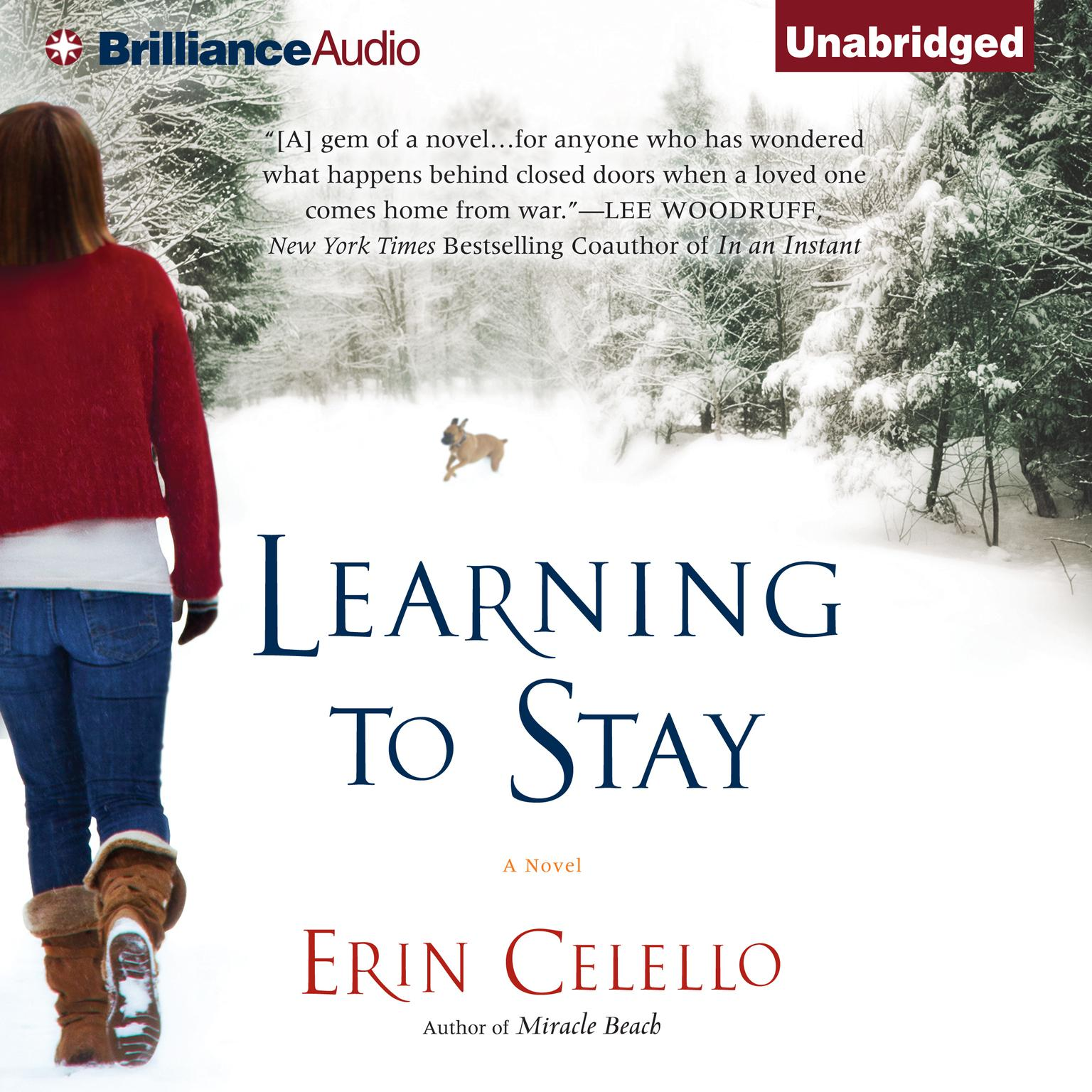 Printable Learning to Stay Audiobook Cover Art