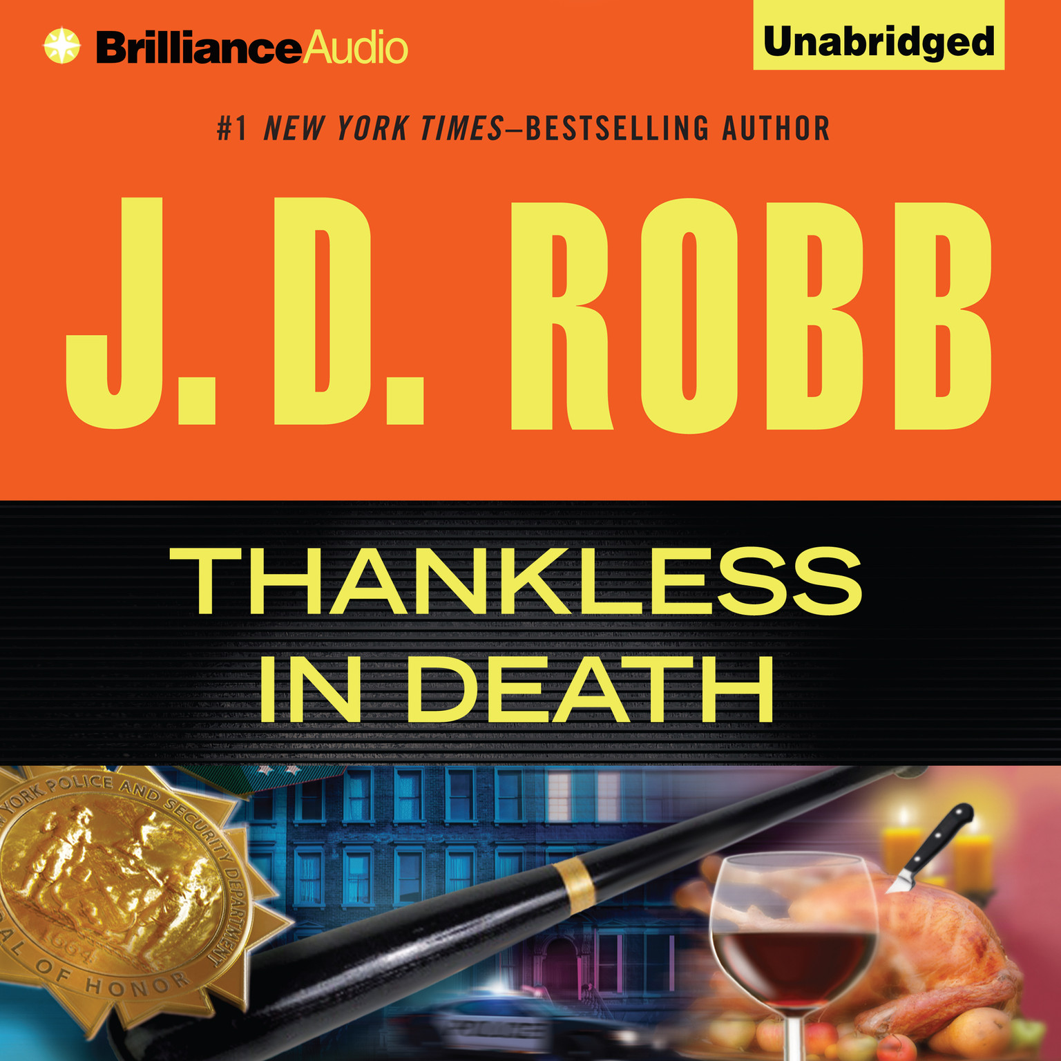 Printable Thankless in Death Audiobook Cover Art