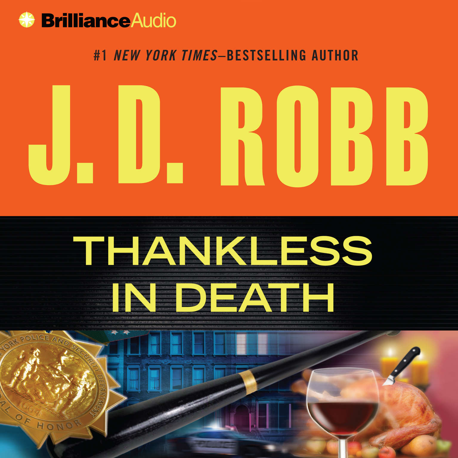 Thankless in Death (Abridged) Audiobook, by J. D. Robb