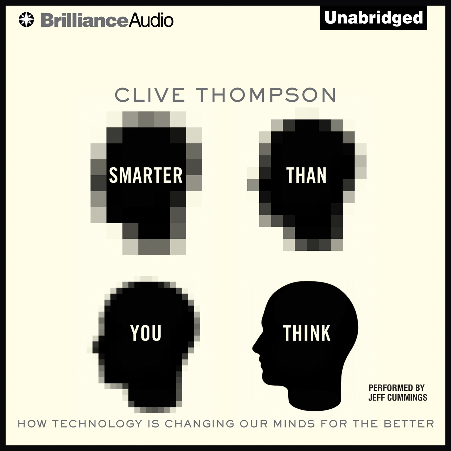 Printable Smarter Than You Think: How Technology Is Changing Our Minds for the Better Audiobook Cover Art
