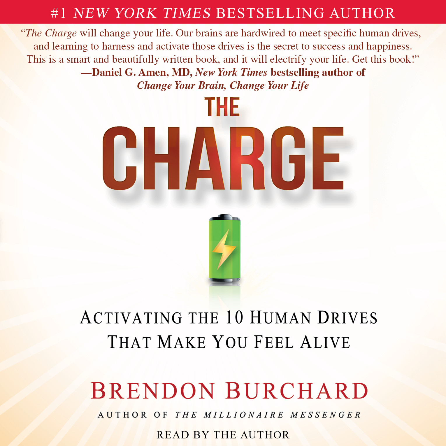 Printable The Charge: Activating the 10 Human Drives That Make You Feel Alive Audiobook Cover Art