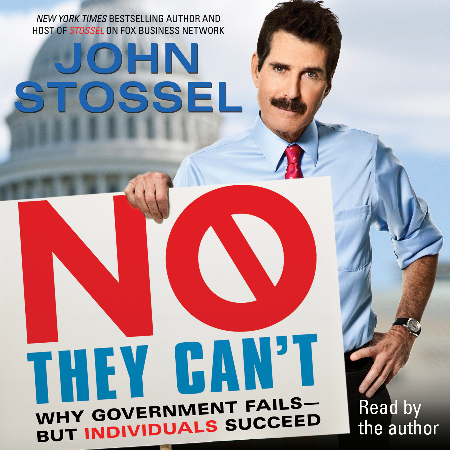 Printable No, They Can't: Why Government Fails - But Individuals Succeed Audiobook Cover Art
