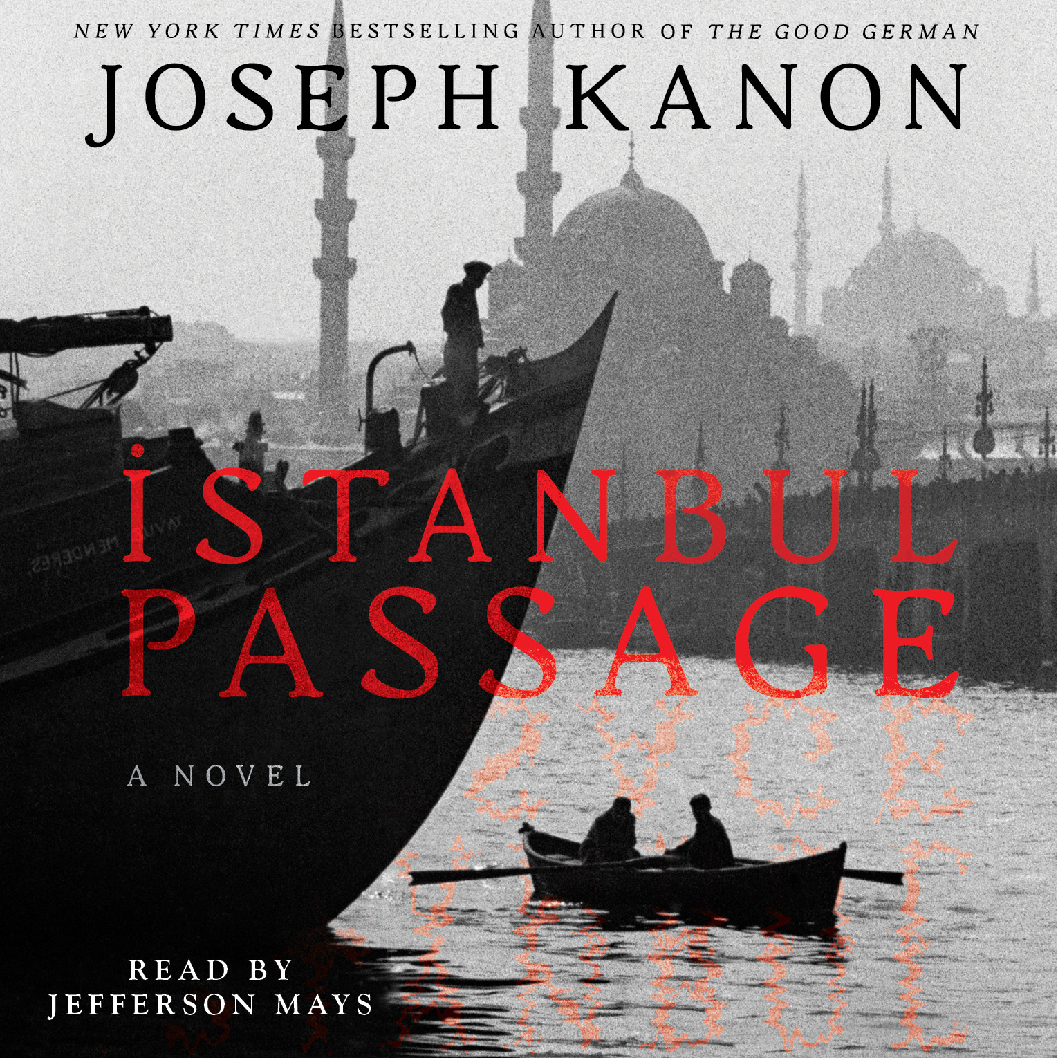 Printable Istanbul Passage: A Novel Audiobook Cover Art
