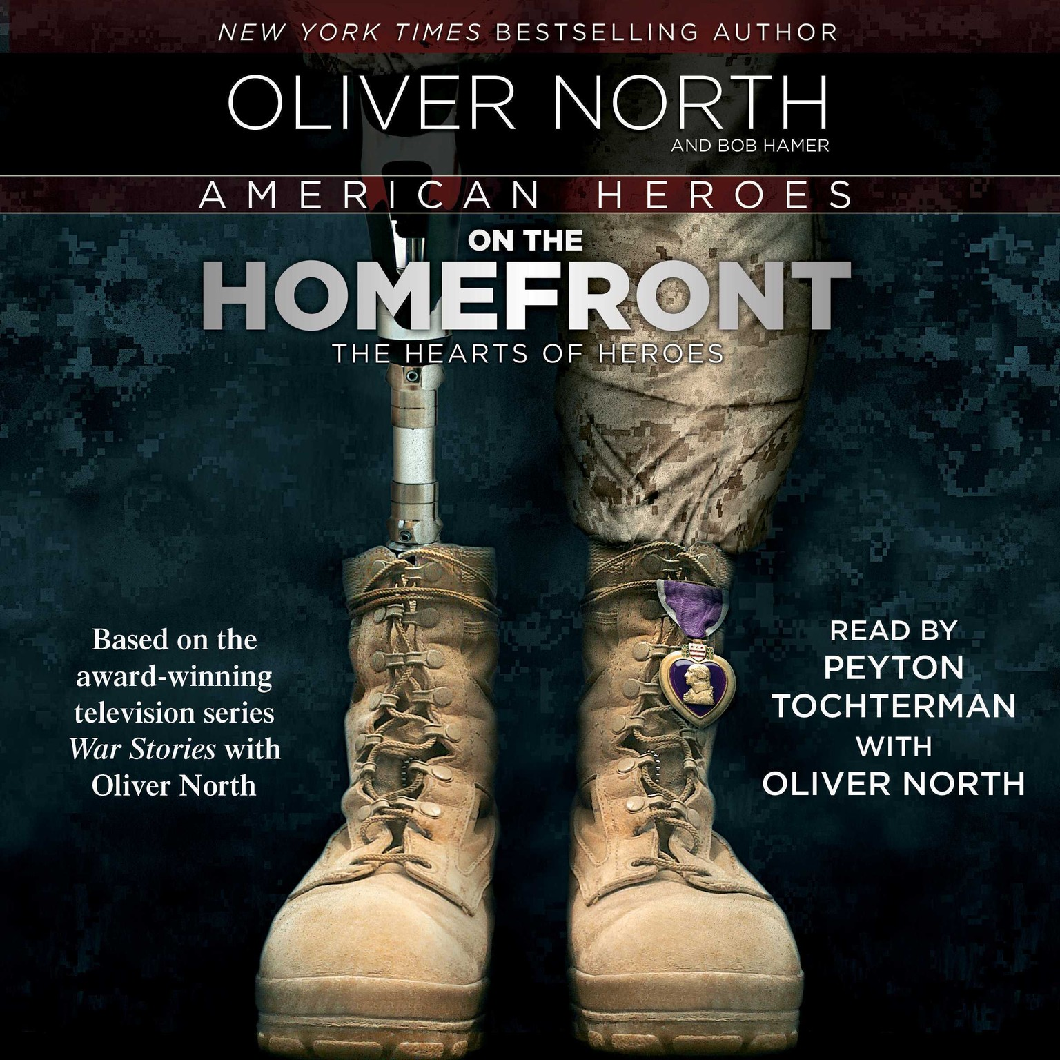 Printable American Heroes on the Homefront: On the Homefront Audiobook Cover Art