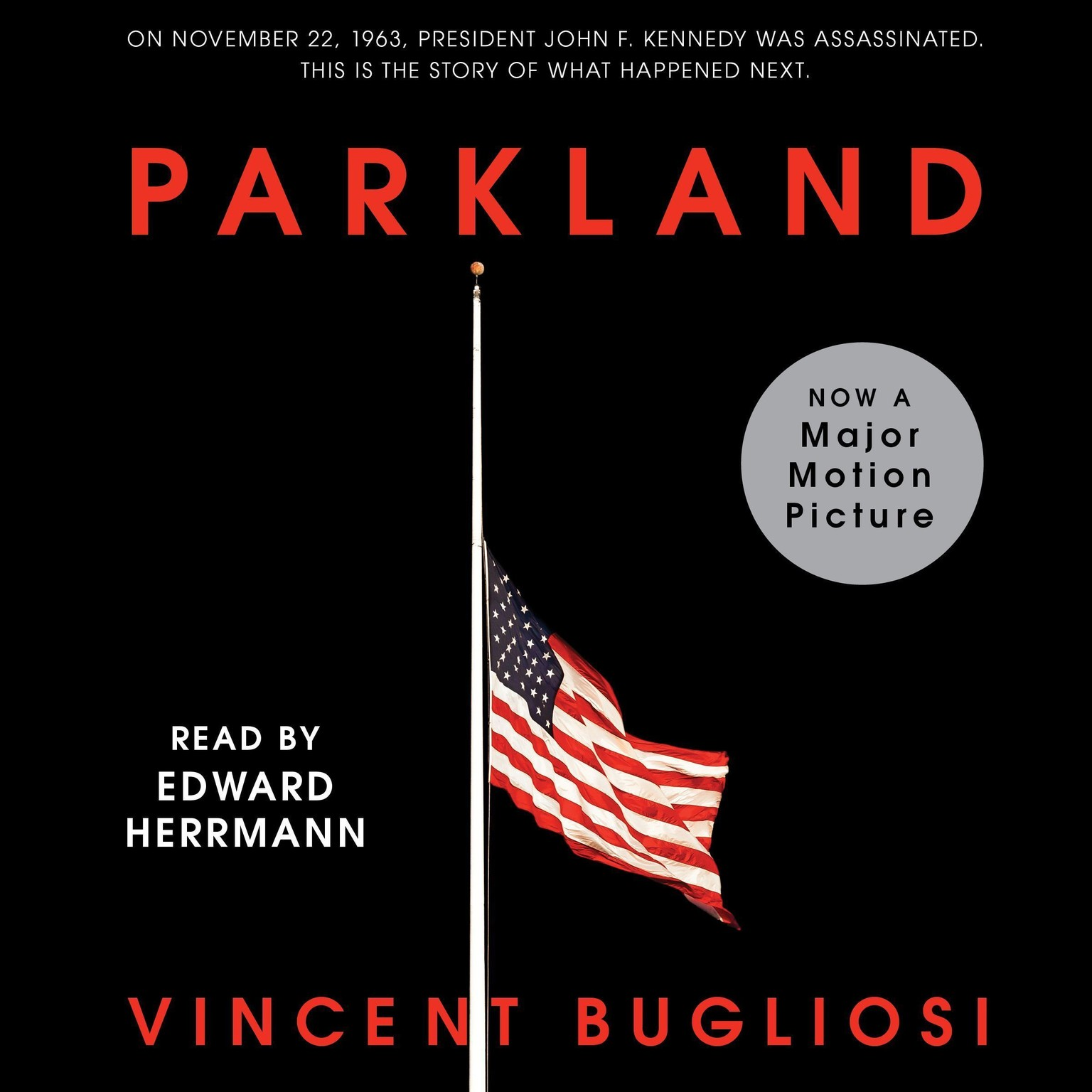 Printable Parkland Audiobook Cover Art