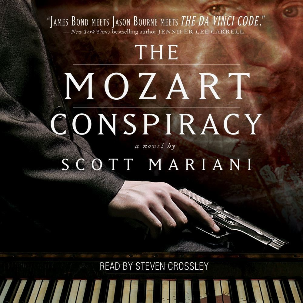 Printable The Mozart Conspiracy: A Thriller Audiobook Cover Art