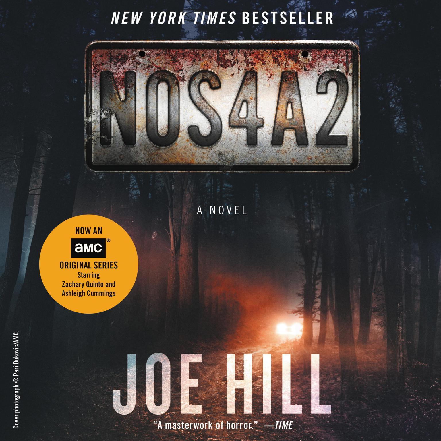 Printable NOS4A2: A Novel Audiobook Cover Art