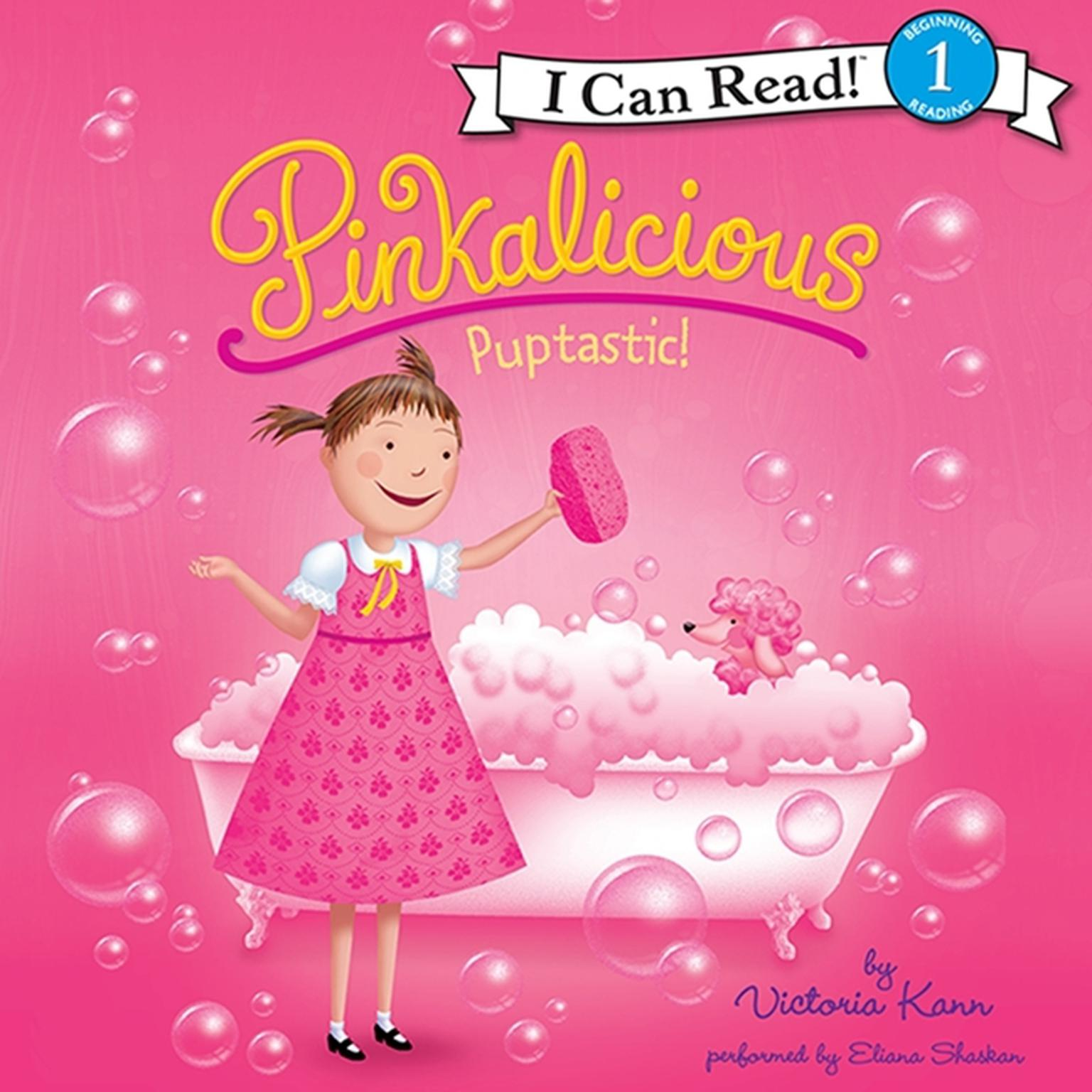 Printable Pinkalicious: Puptastic! Audiobook Cover Art