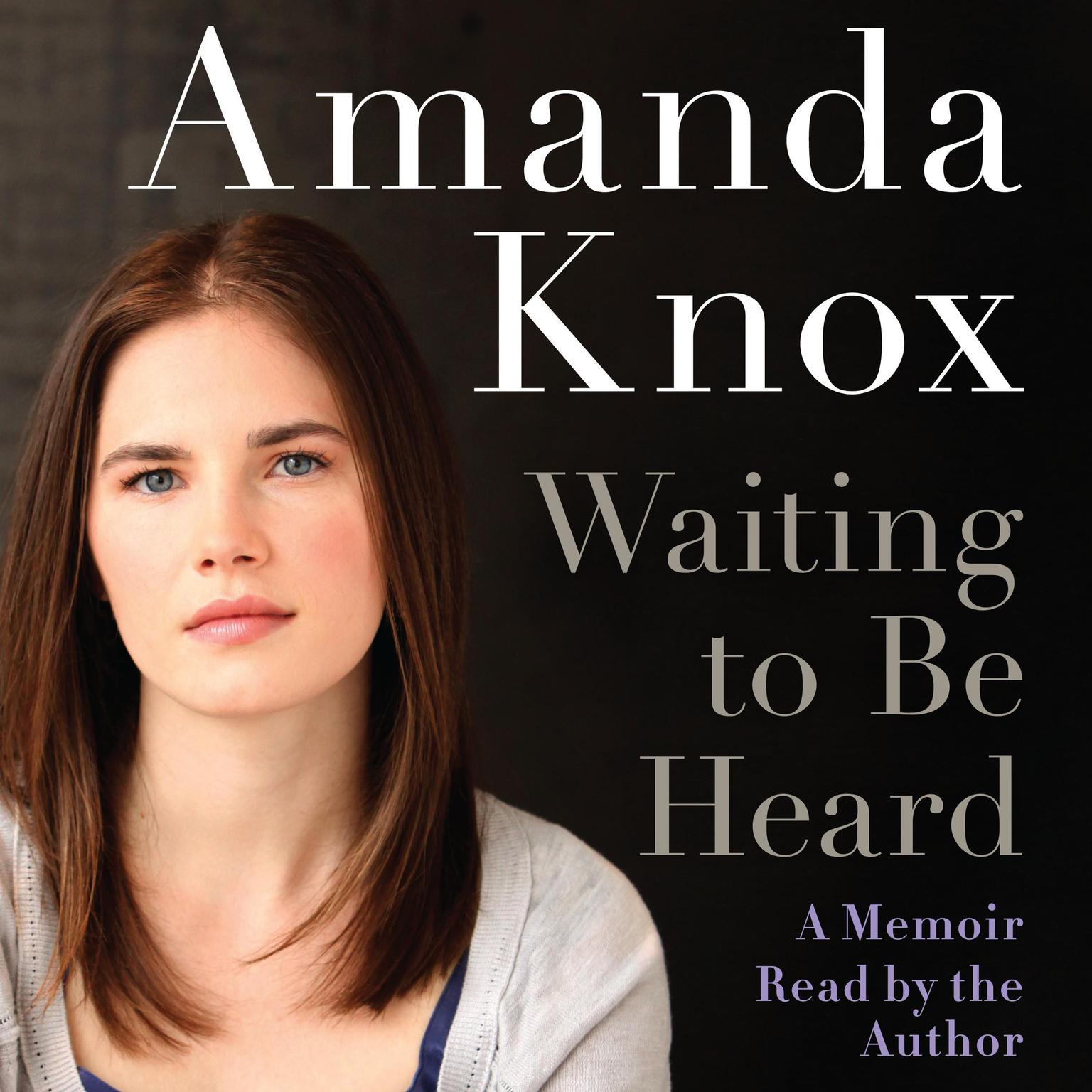 Printable Waiting to Be Heard: A Memoir Audiobook Cover Art