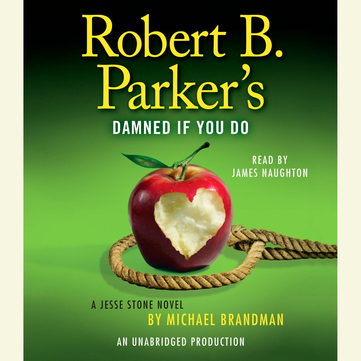 Printable Robert B. Parker's Damned If You Do: A Jesse Stone Novel Audiobook Cover Art