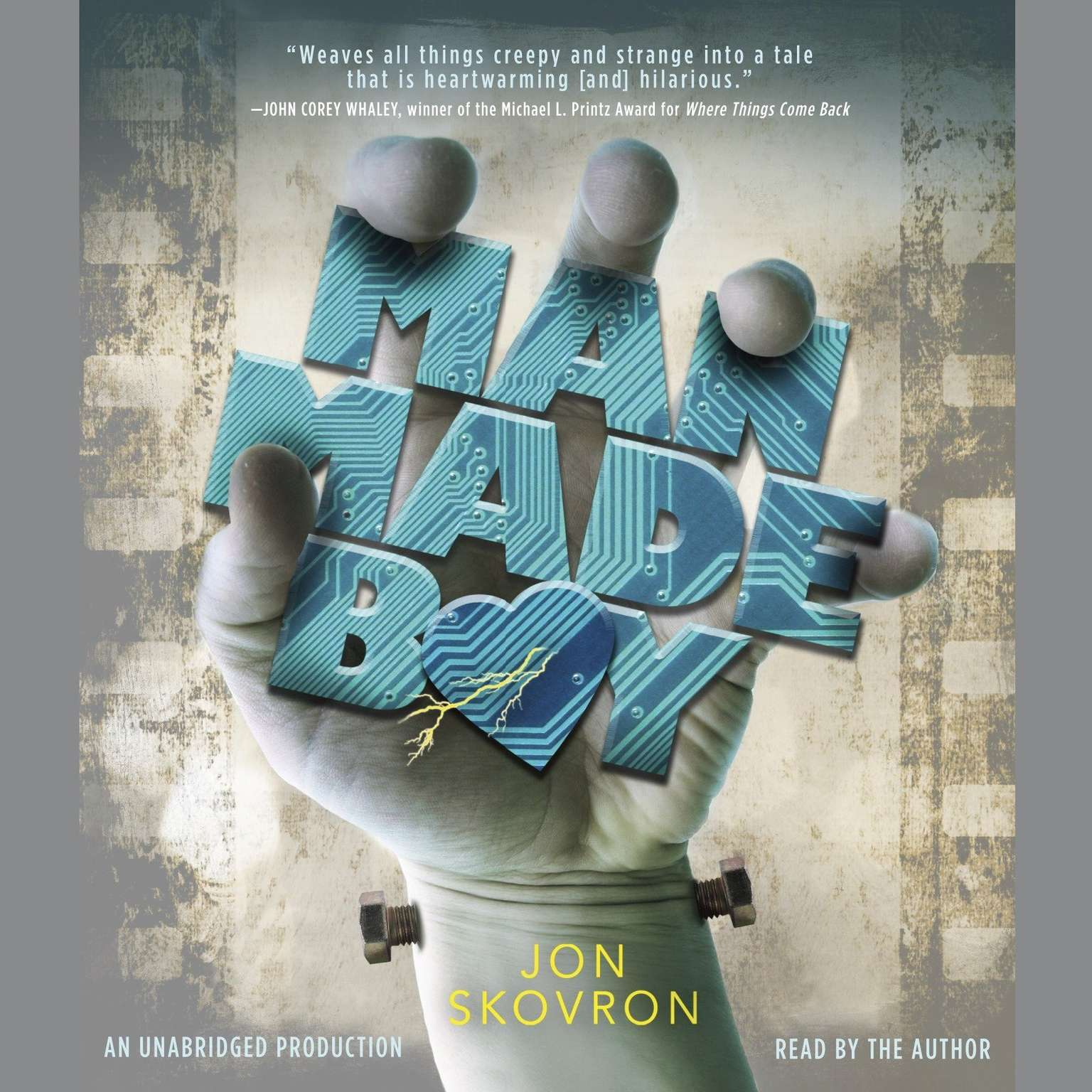 Printable Man Made Boy Audiobook Cover Art
