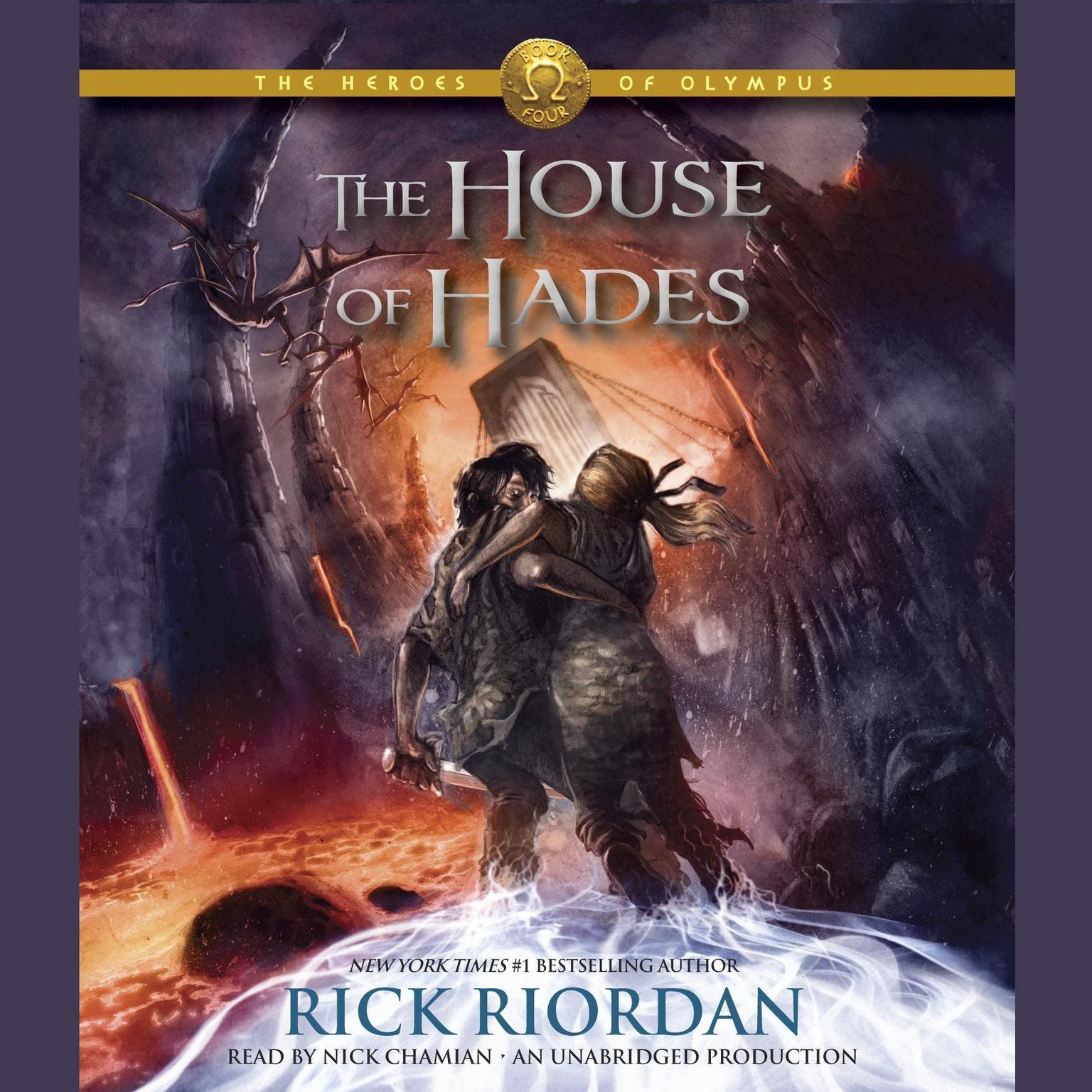 Printable The Heroes of Olympus, Book Four: The House of Hades Audiobook Cover Art