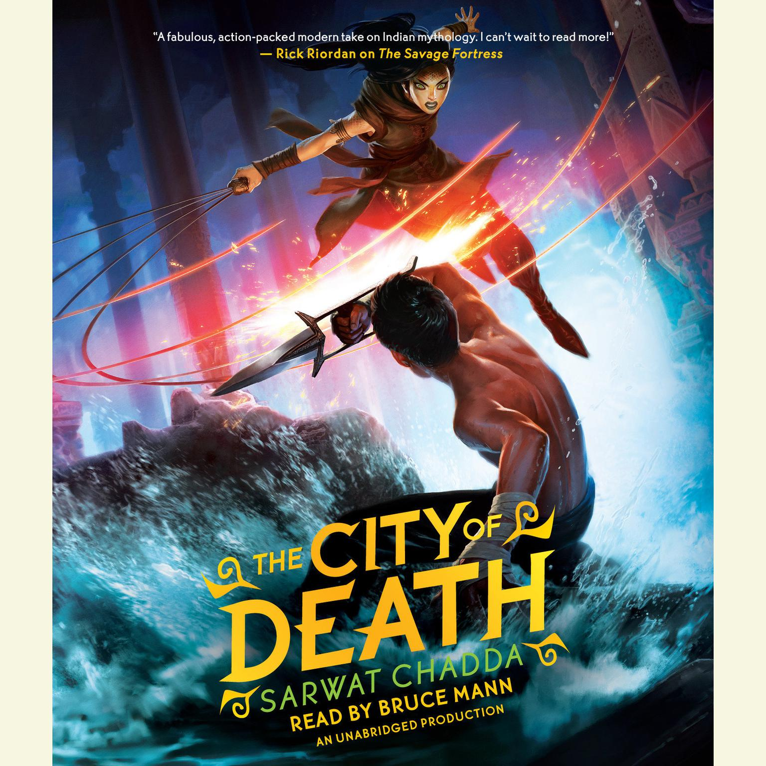 Printable The City of Death Audiobook Cover Art