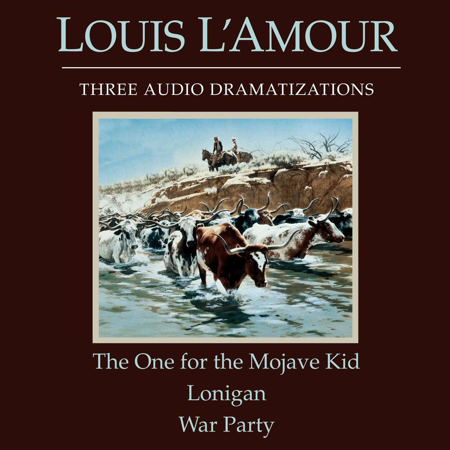 Printable The One for the Mojave Kid/Lonigan/War Party Audiobook Cover Art