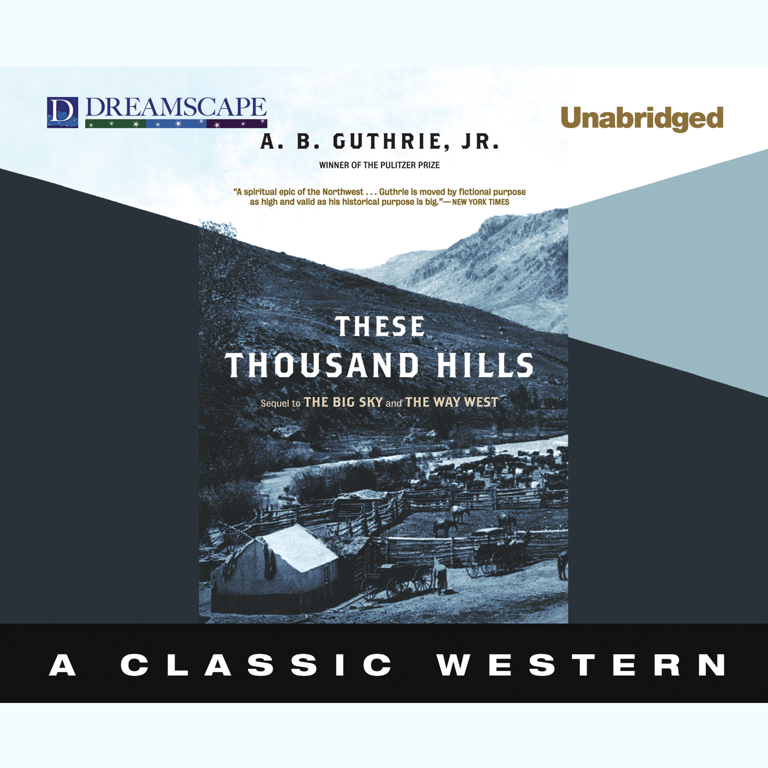 Printable These Thousand Hills Audiobook Cover Art