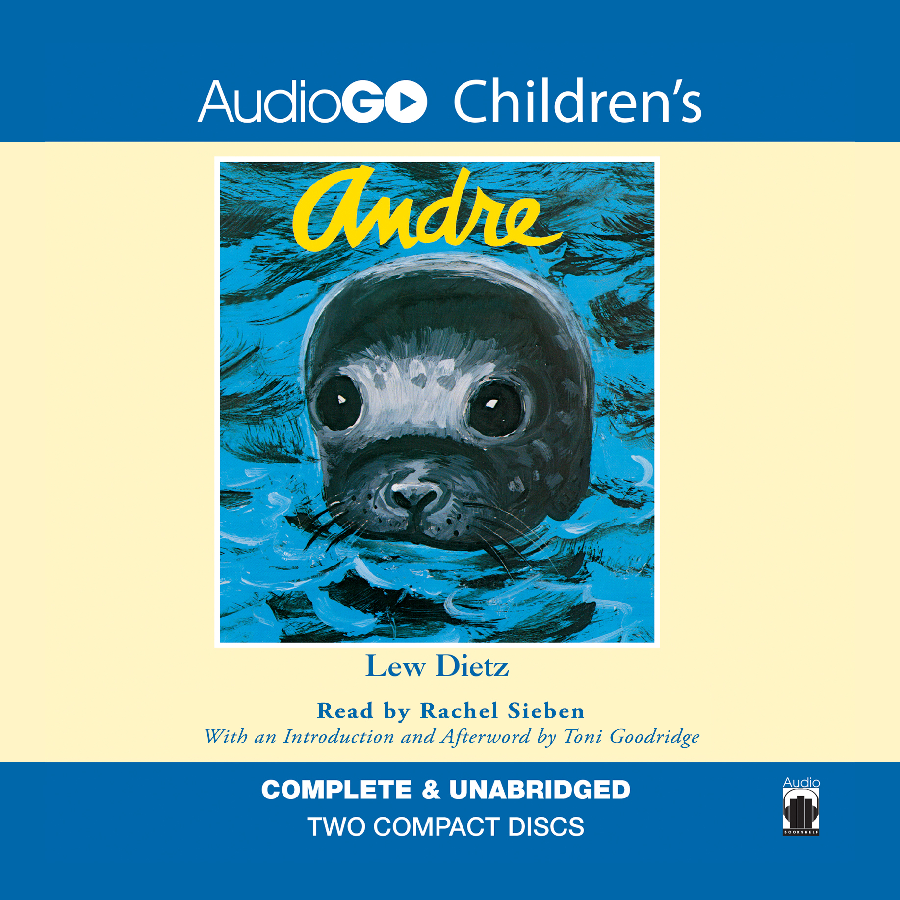 Printable Andre Audiobook Cover Art