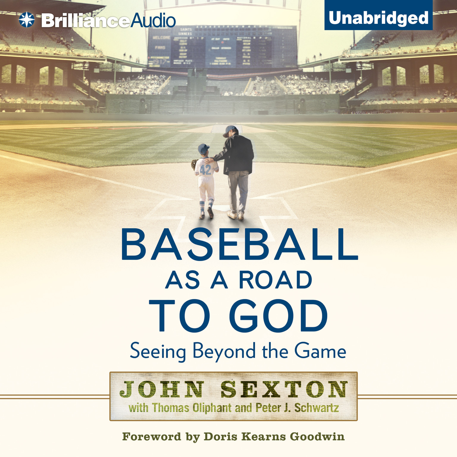 Printable Baseball as a Road to God: Seeing Beyond the Game Audiobook Cover Art