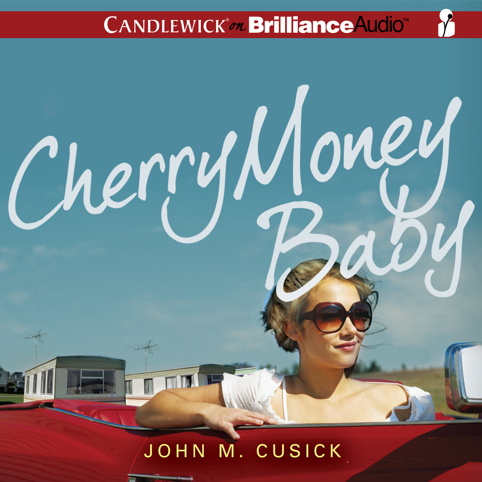 Printable Cherry Money Baby Audiobook Cover Art