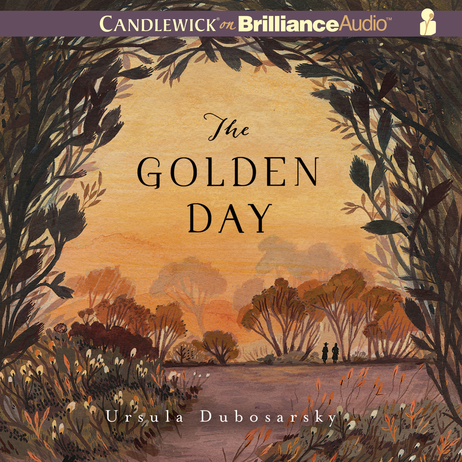 Printable The Golden Day Audiobook Cover Art