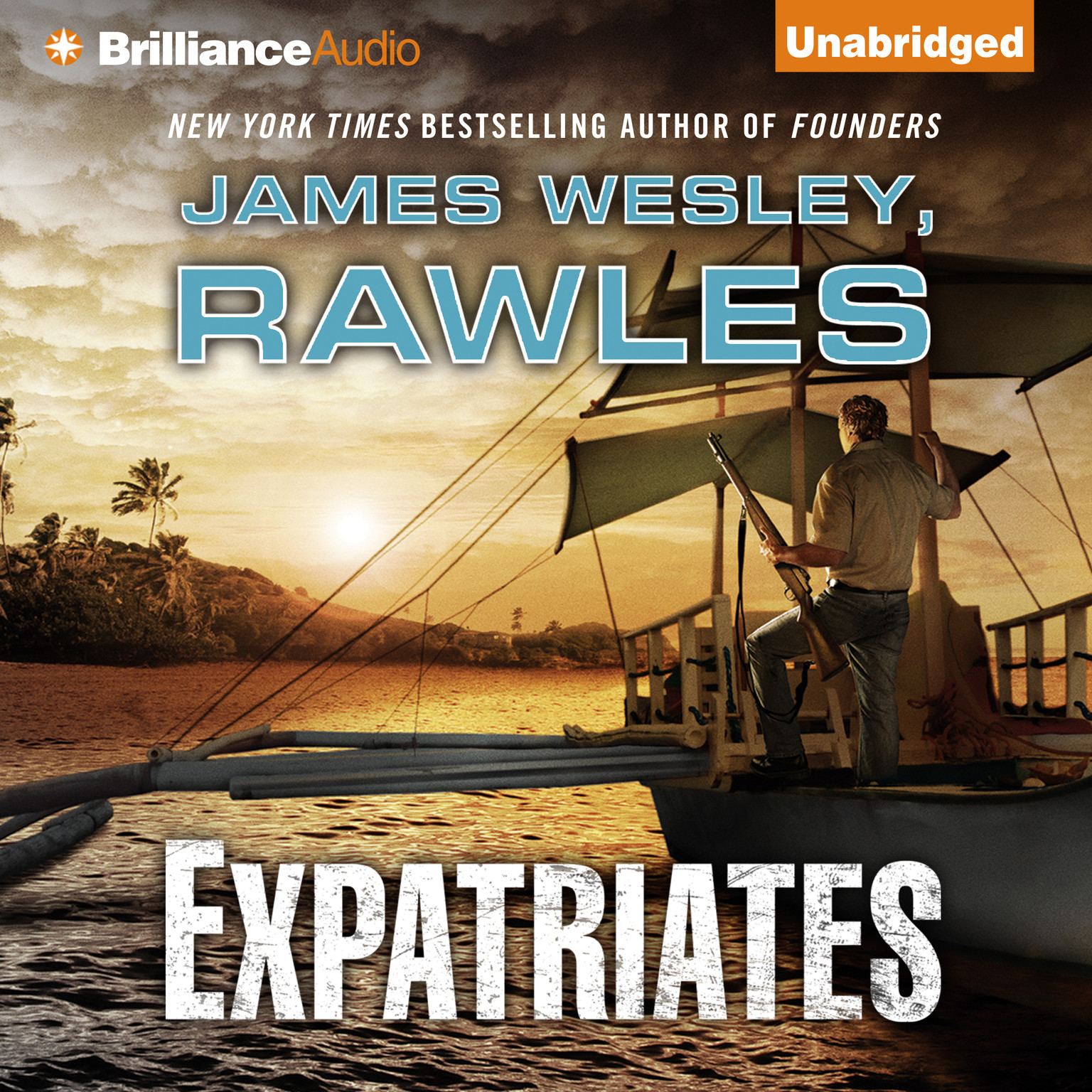 Printable Expatriates: A Novel of the Coming Global Collapse Audiobook Cover Art