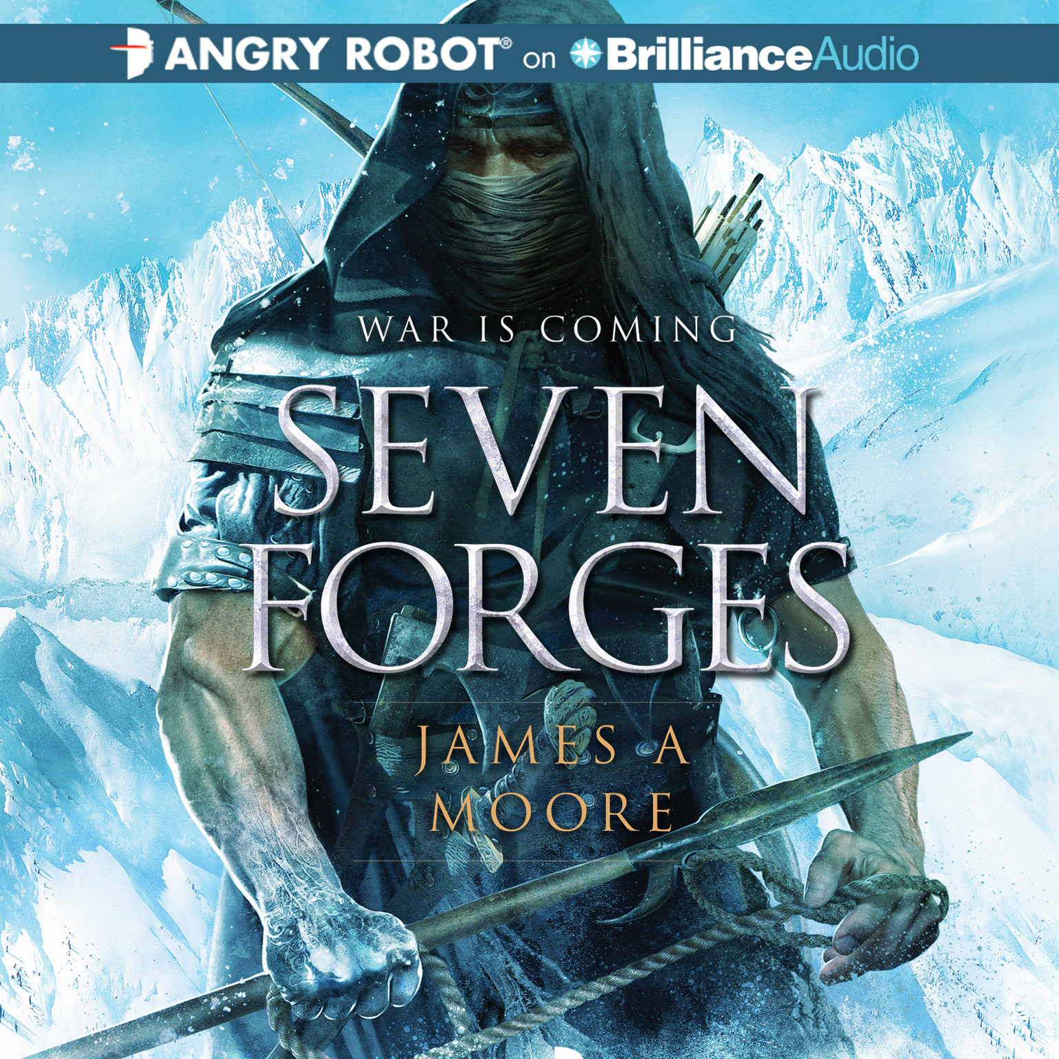 Printable Seven Forges Audiobook Cover Art