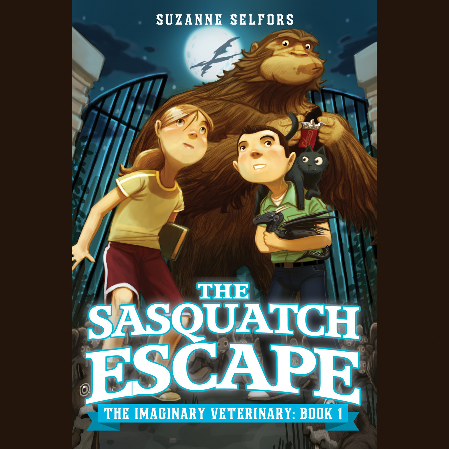 Printable The Sasquatch Escape Audiobook Cover Art