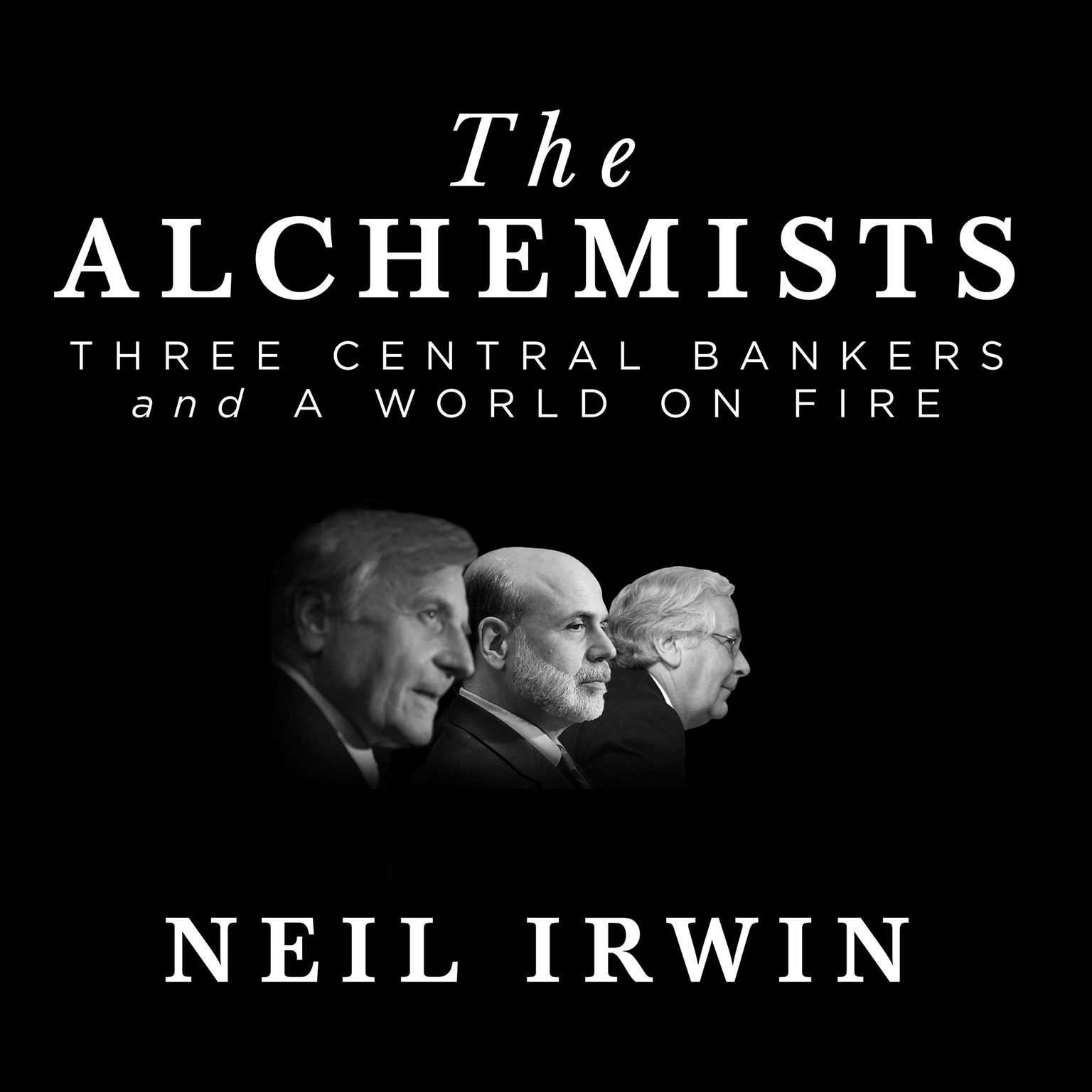 Printable The Alchemists: Three Central Bankers and a World on Fire Audiobook Cover Art