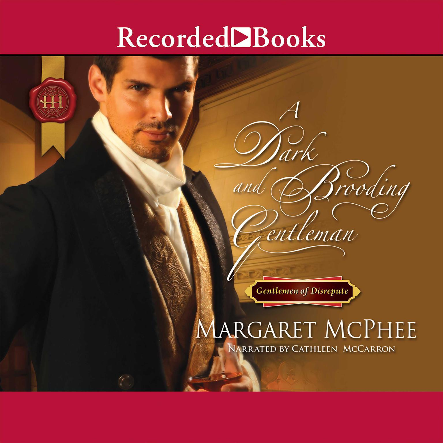 Printable A Dark and Brooding Gentleman Audiobook Cover Art