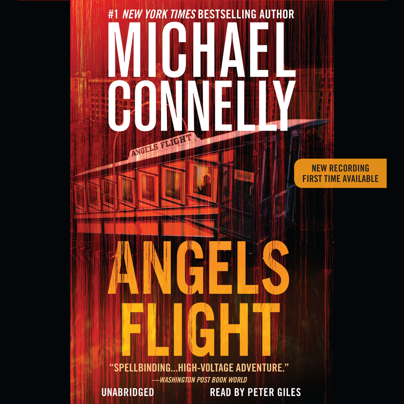 Printable Angels Flight Audiobook Cover Art