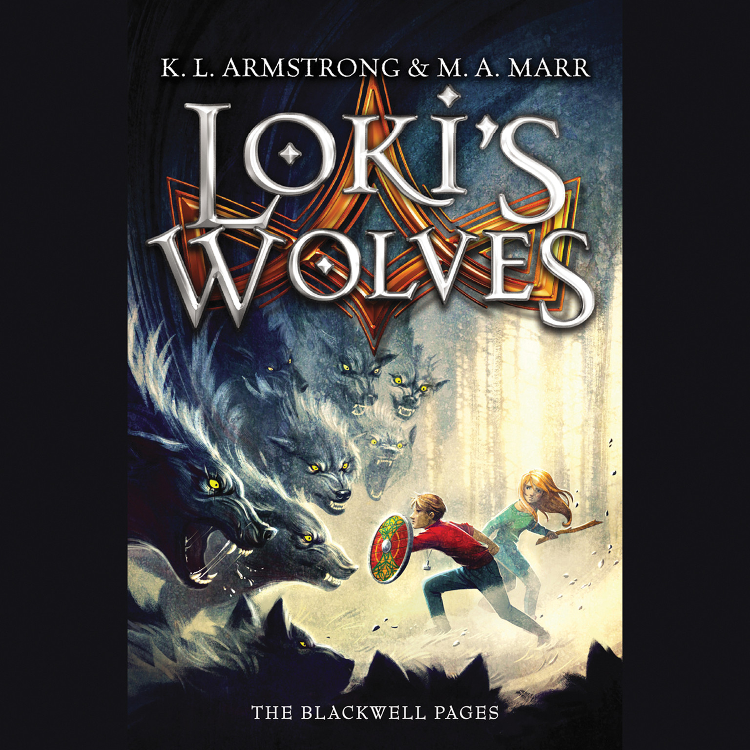 Printable Loki's Wolves Audiobook Cover Art