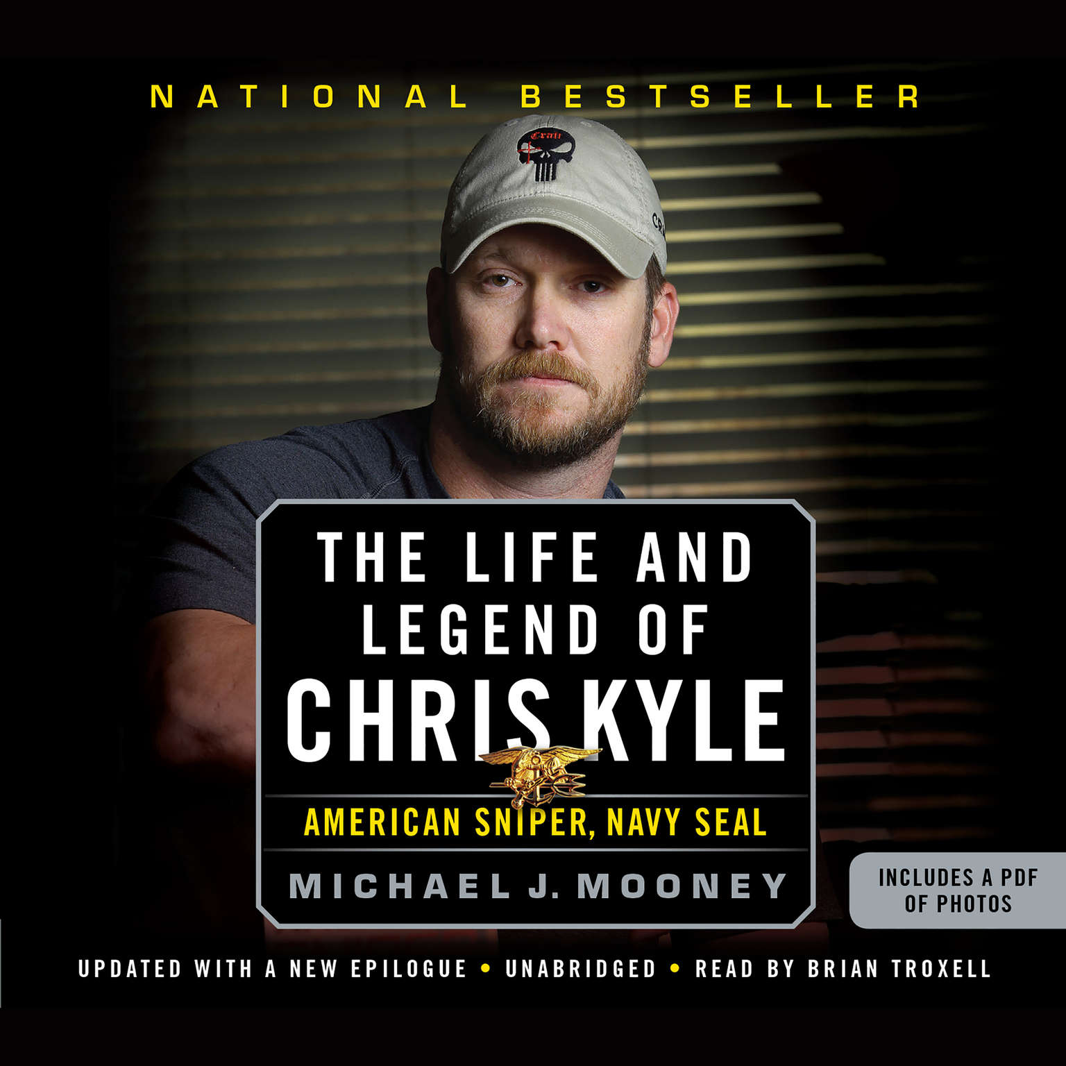 Printable The Life and Legend of Chris Kyle: American Sniper, Navy SEAL Audiobook Cover Art