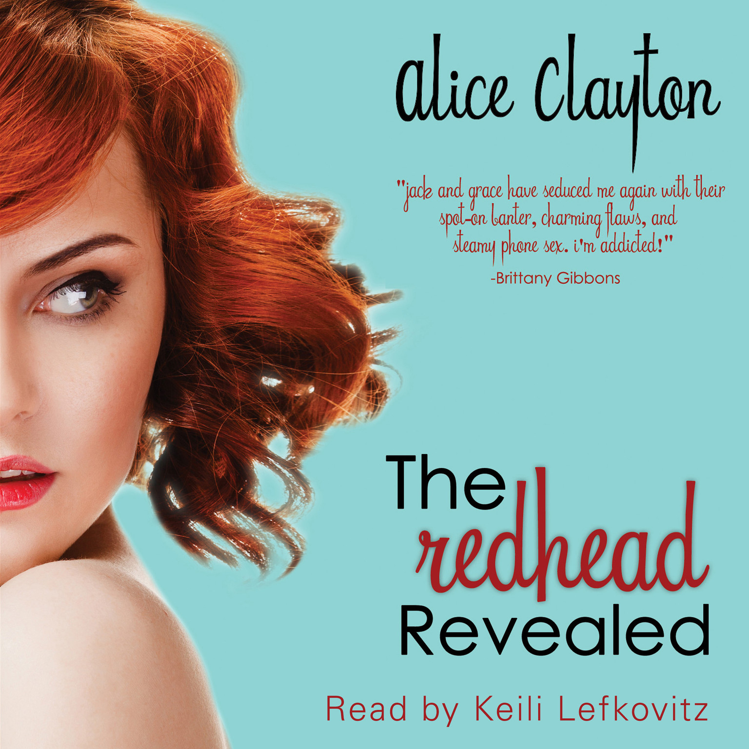 Printable The Redhead Revealed Audiobook Cover Art