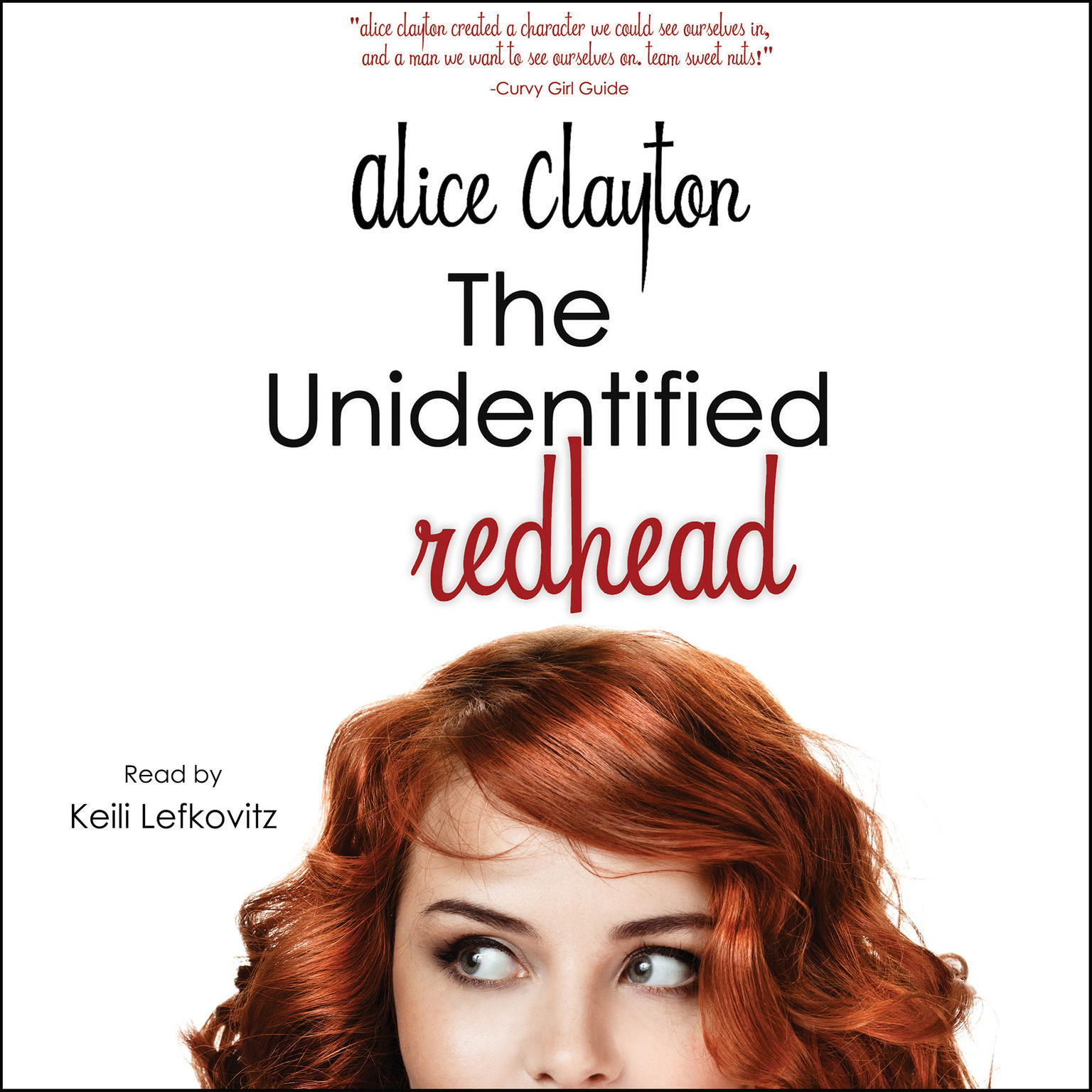 Printable The Unidentified Redhead Audiobook Cover Art