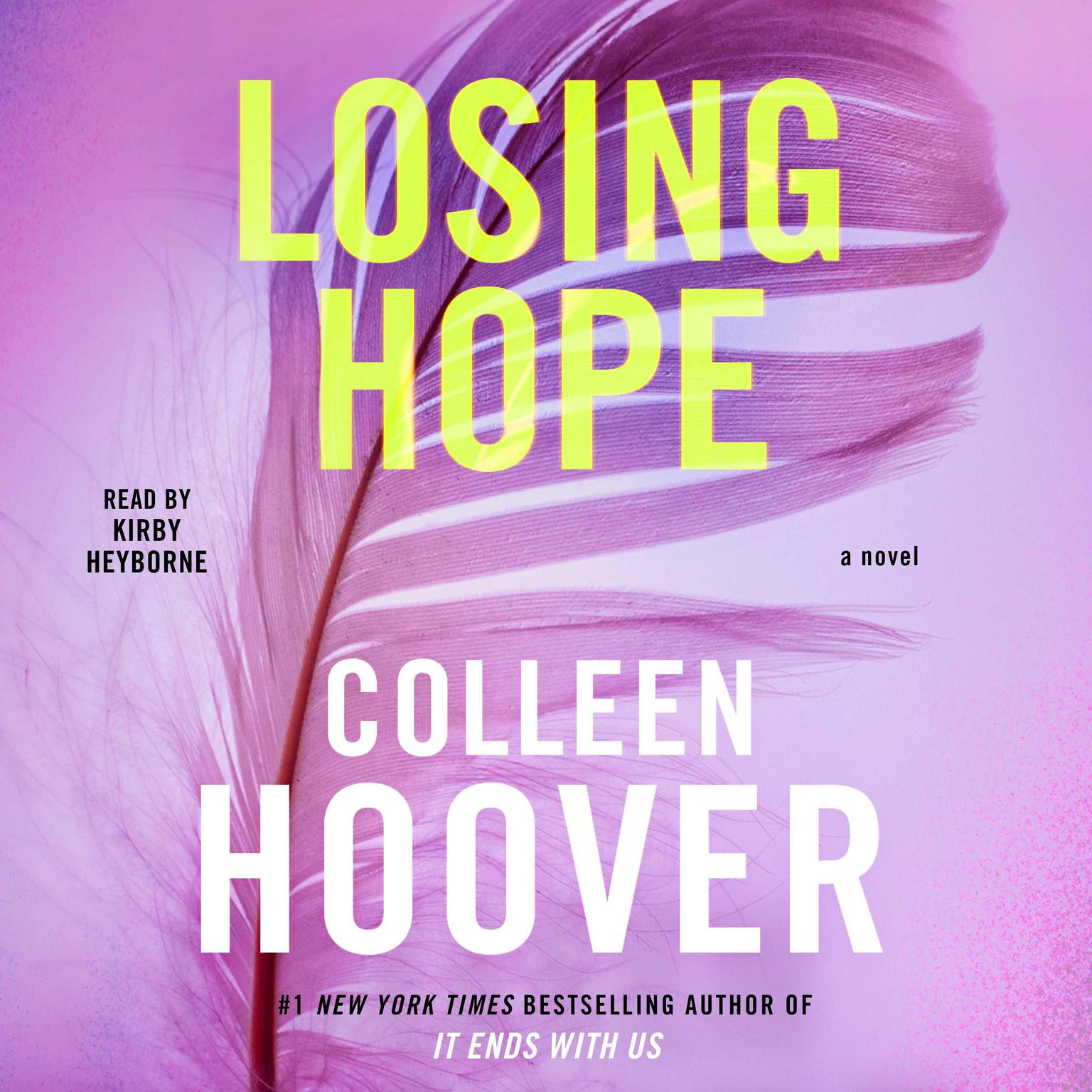 Printable Losing Hope: A Novel Audiobook Cover Art