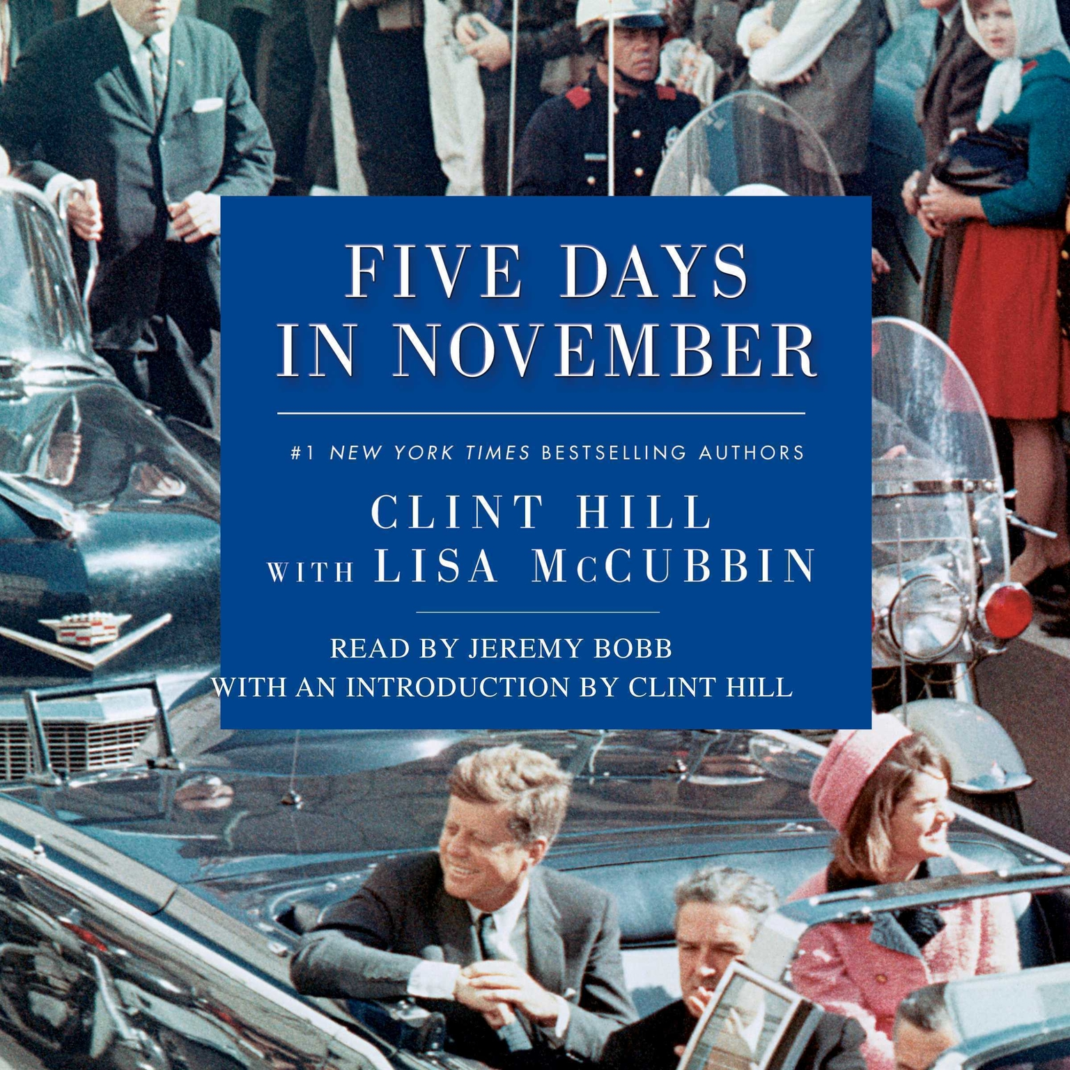 Printable Five Days in November Audiobook Cover Art
