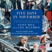 Five Days in November Audiobook, by Clint Hill, Lisa McCubbin