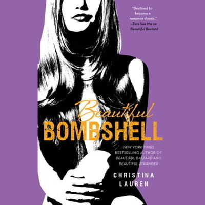 Printable Beautiful Bombshell Audiobook Cover Art