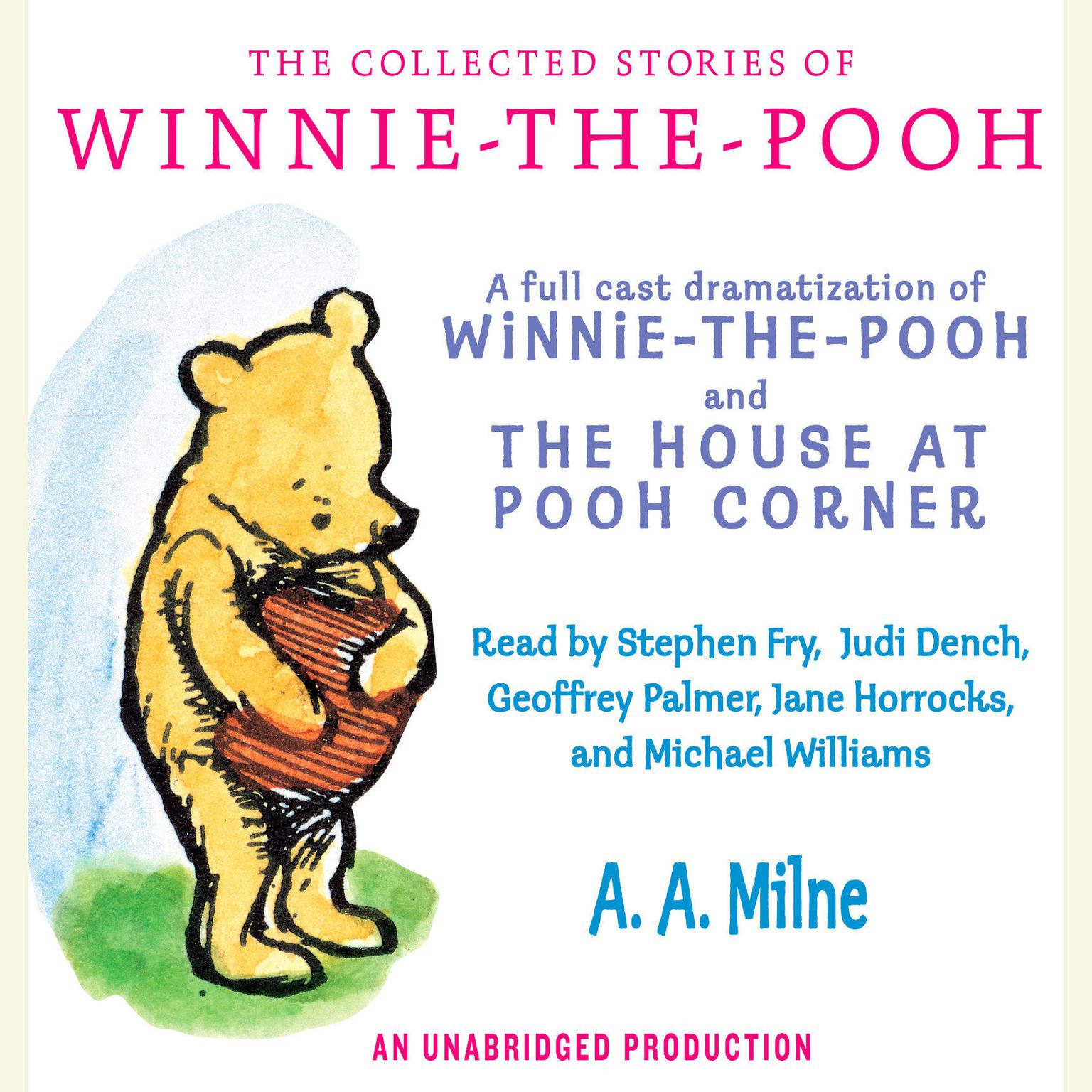 Printable The Collected Stories of Winnie-the-Pooh Audiobook Cover Art