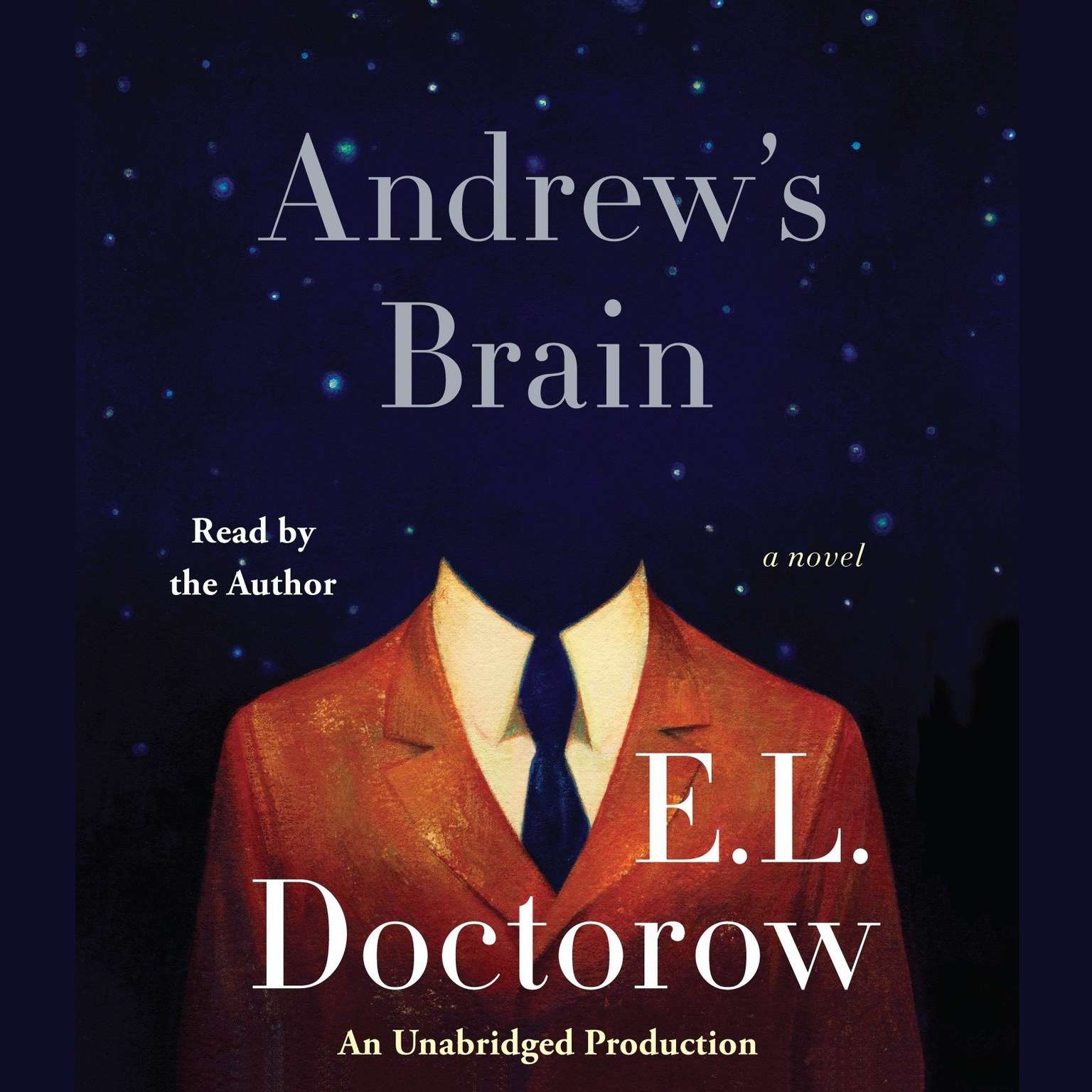 Printable Andrew's Brain: A Novel Audiobook Cover Art