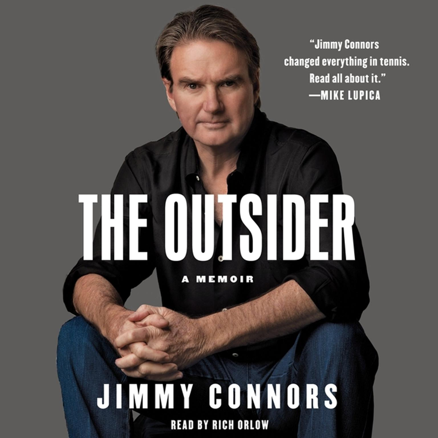 Printable The Outsider: A Memoir Audiobook Cover Art